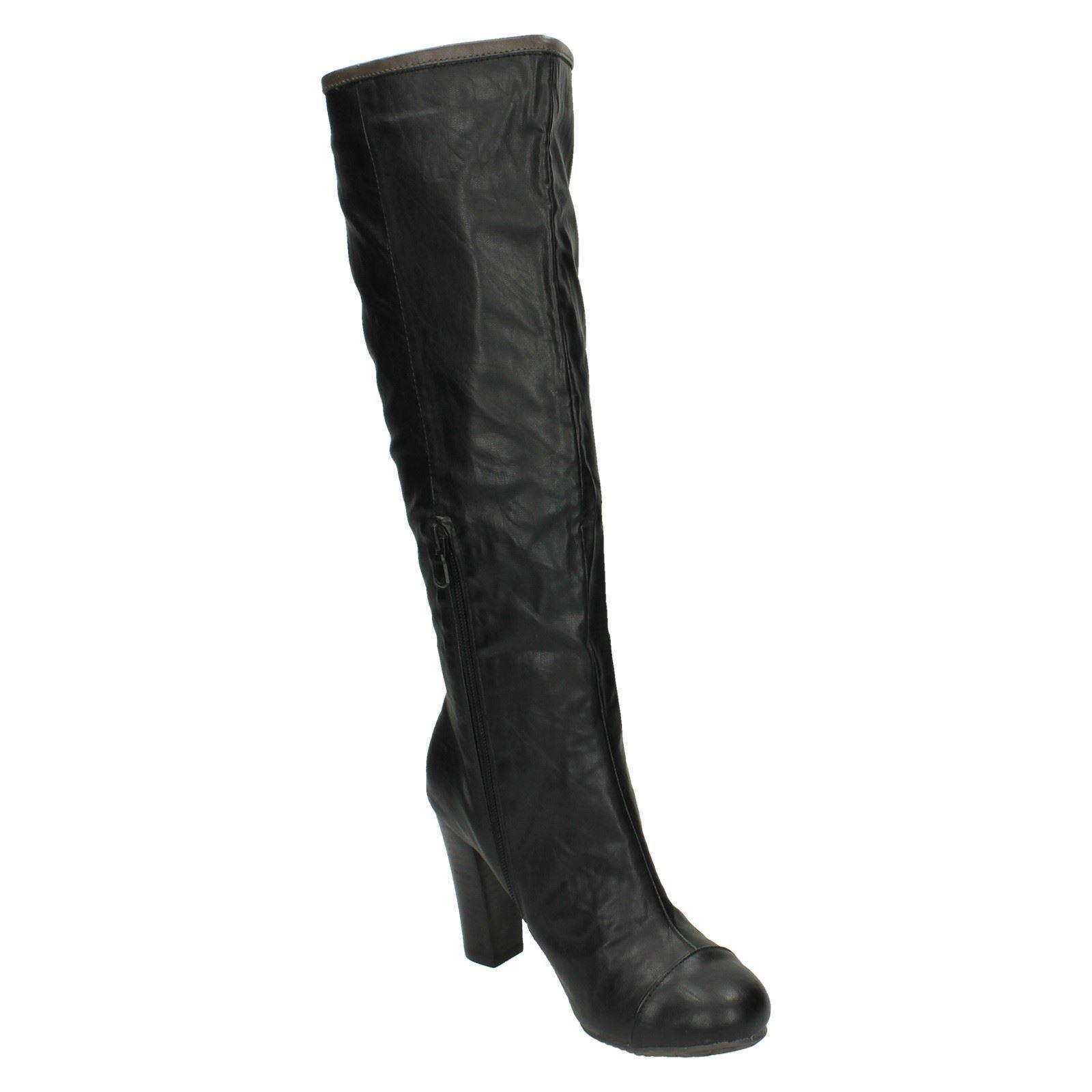 coco high heel knee length boots l9326 ebay