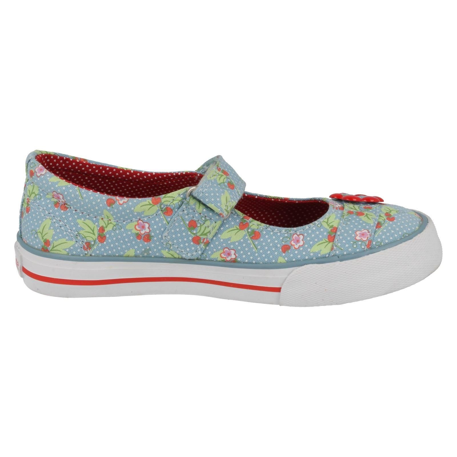 startrite summer canvas shoes strawberry jam