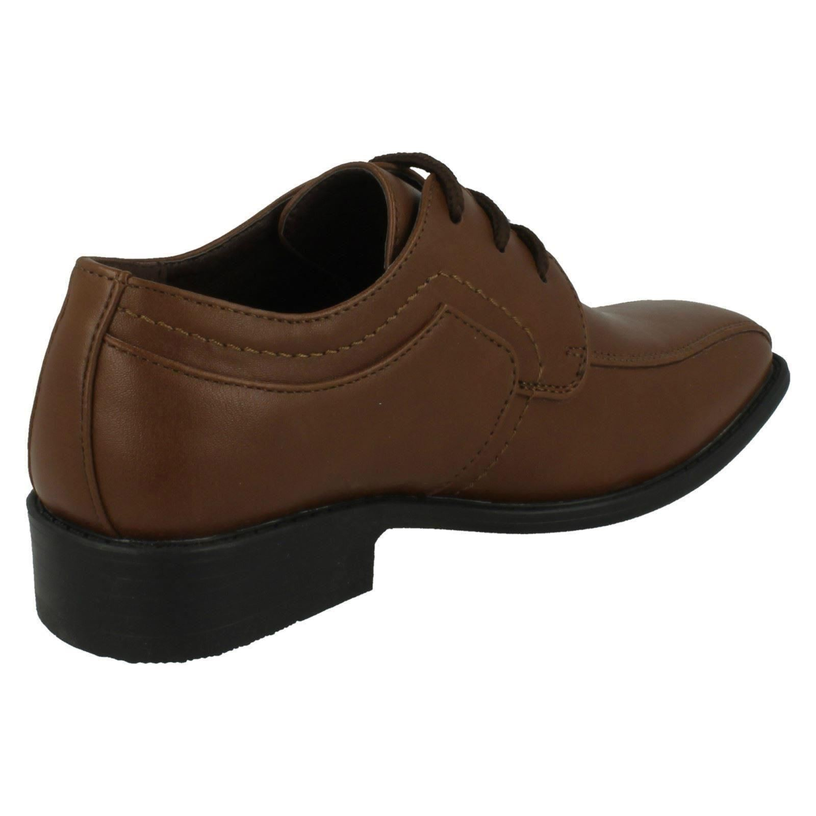 jcdees boys trendy lace up formal shoes 109 ebay