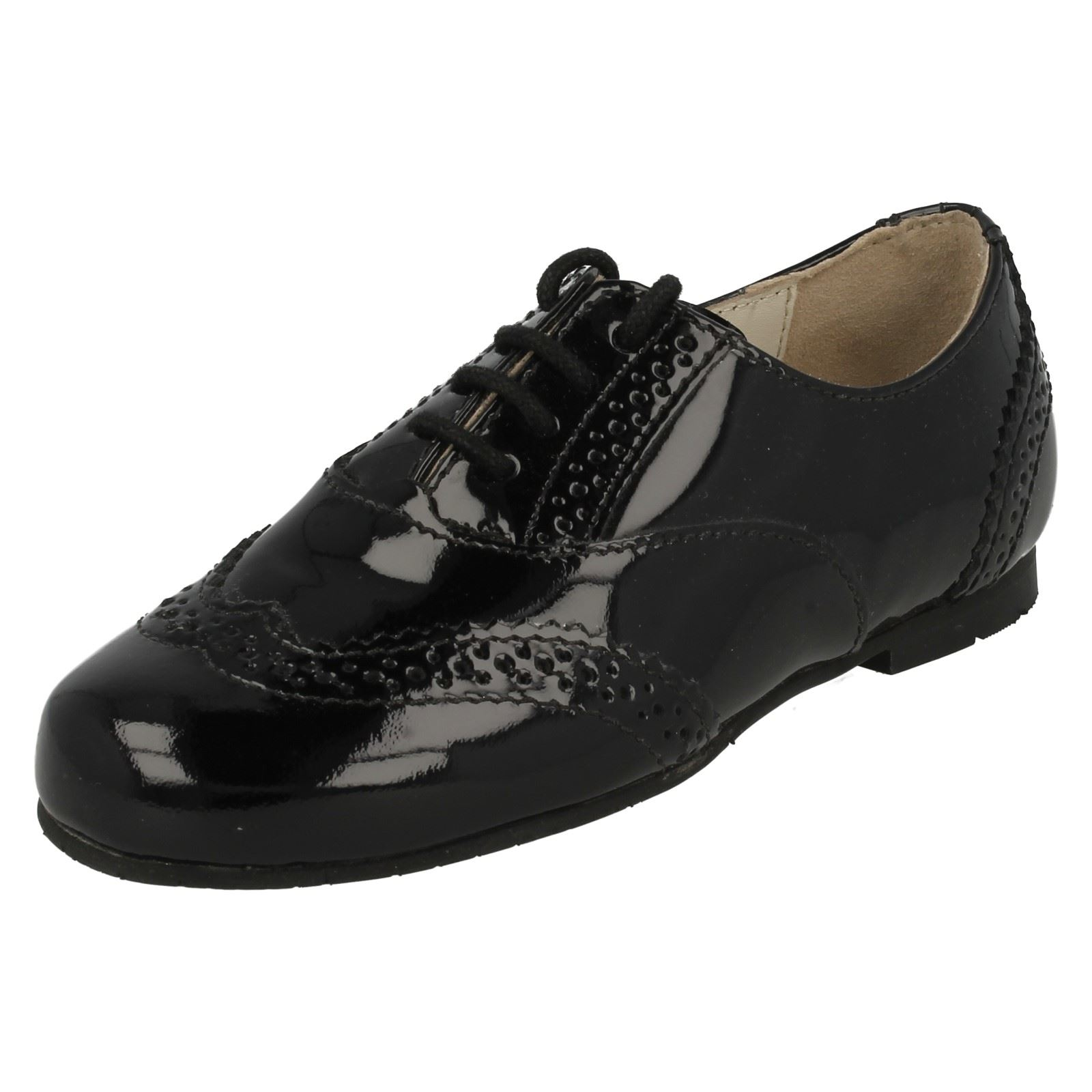 Girls Startrite Formal Lace Up School Shoes Fran