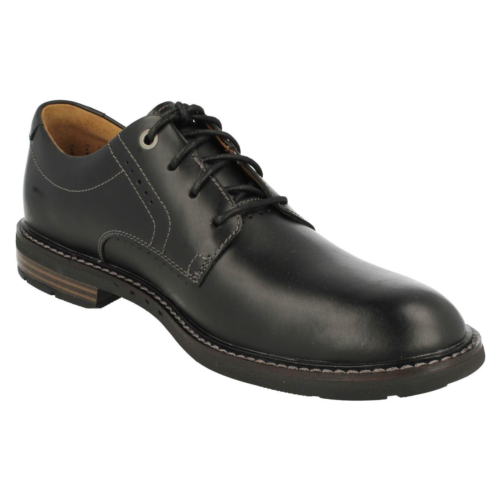 mens clarks formal lace up shoes unelott plain