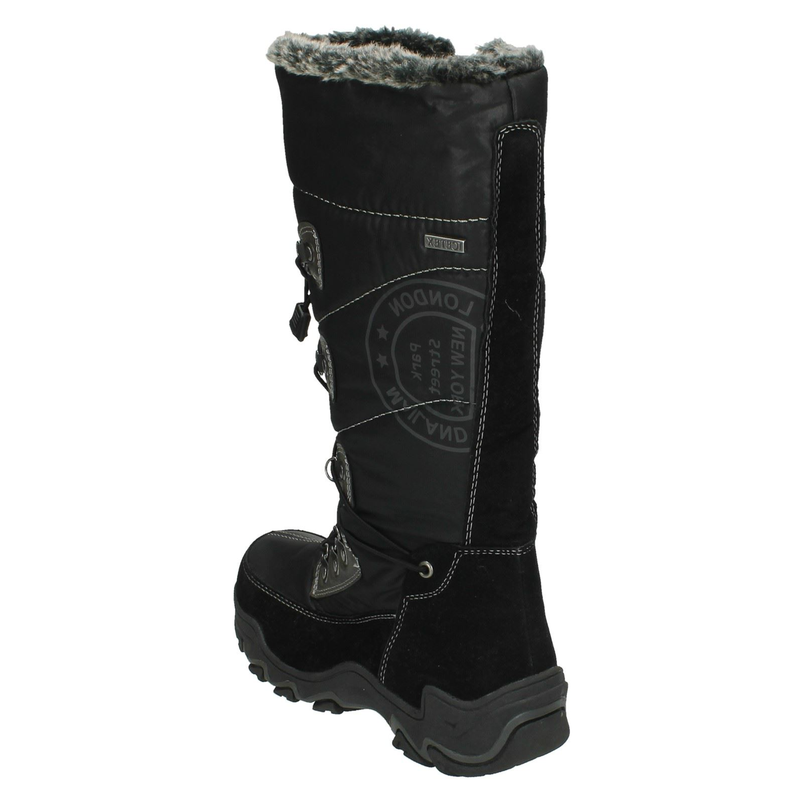 childrens icetex knee high snow boots ebay