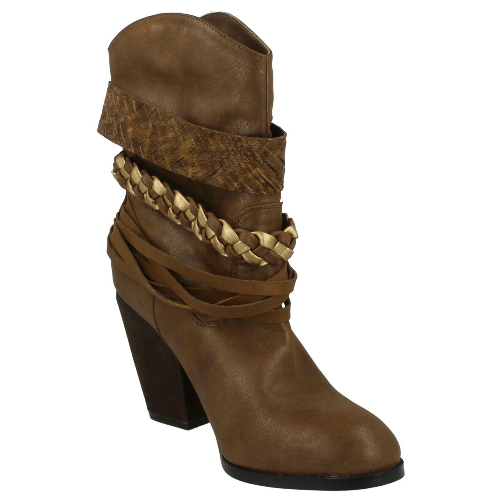 spot on high heel slouch cowboy boots ebay