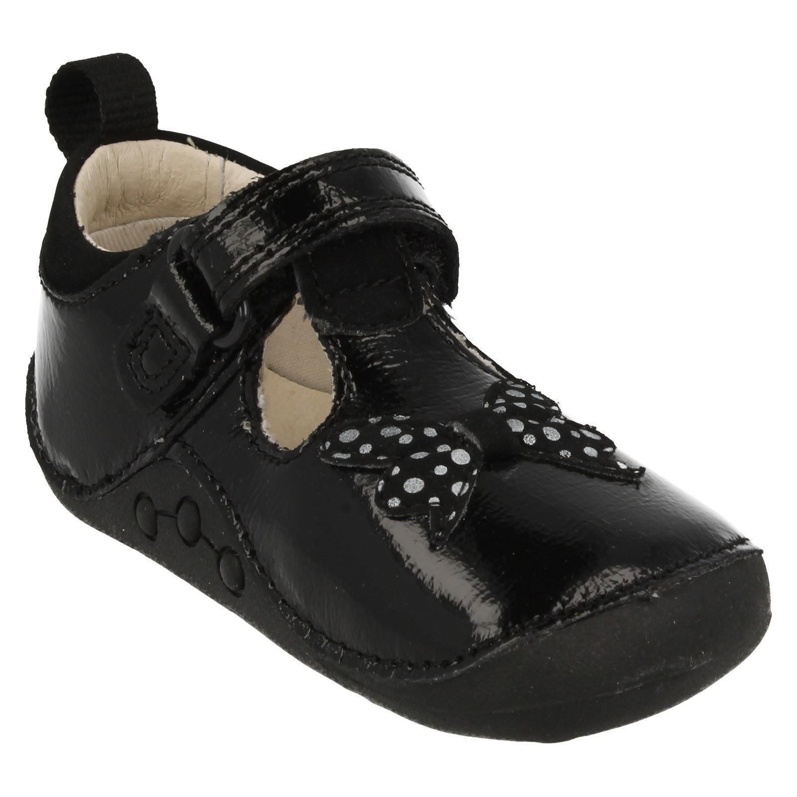 Infant Baby Girls Clarks Cruiser Shoes Ida Sparkle