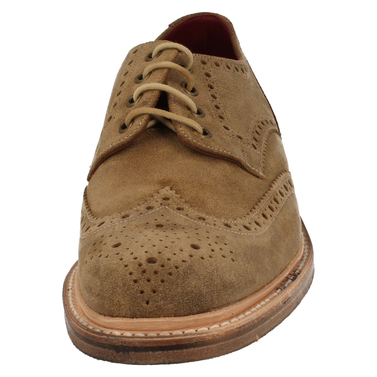 Alpine Swiss Beau Mens Dress Shoes Genuine Suede Wing Tip Brogue Lace Up Oxfords $ $ Men's Suede Wing Tip Dress Shoes By Alpine Swiss Product Features: Genuine Suede Classic Lace Up Oxford Wing Tip with Brogue Detailing and Medallion Toe Updated Classic Look Allows You to.