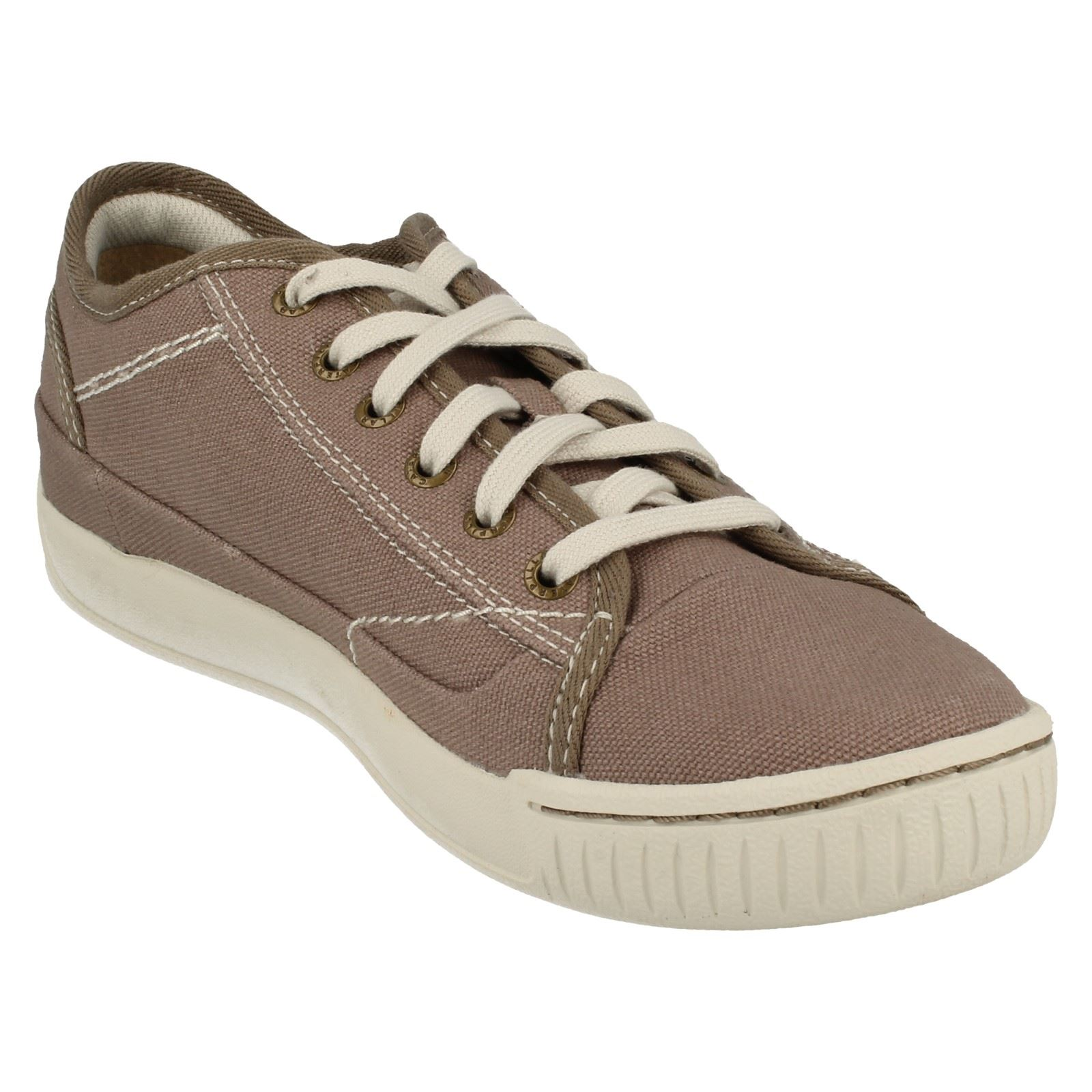 mens caterpillar casual lace up shoes intro canvas ebay