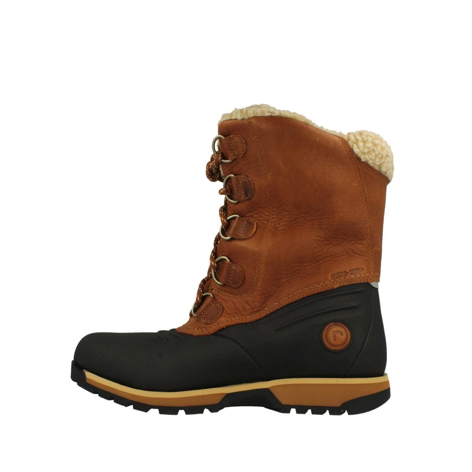 8ff6f0a97d8 Details about Mens Rockport Warmined Winter Boots Lux Lodge