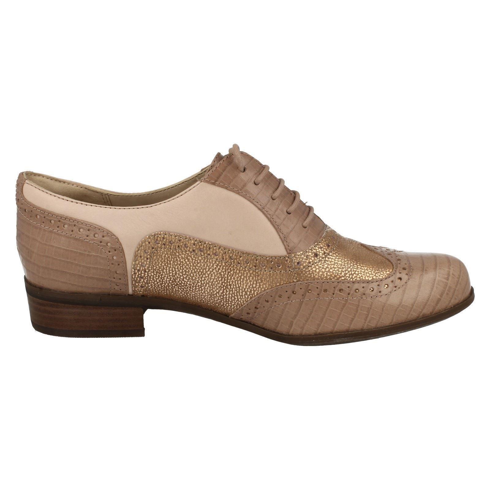 clarks ladies vintage style brogue shoes hamble oak ebay. Black Bedroom Furniture Sets. Home Design Ideas