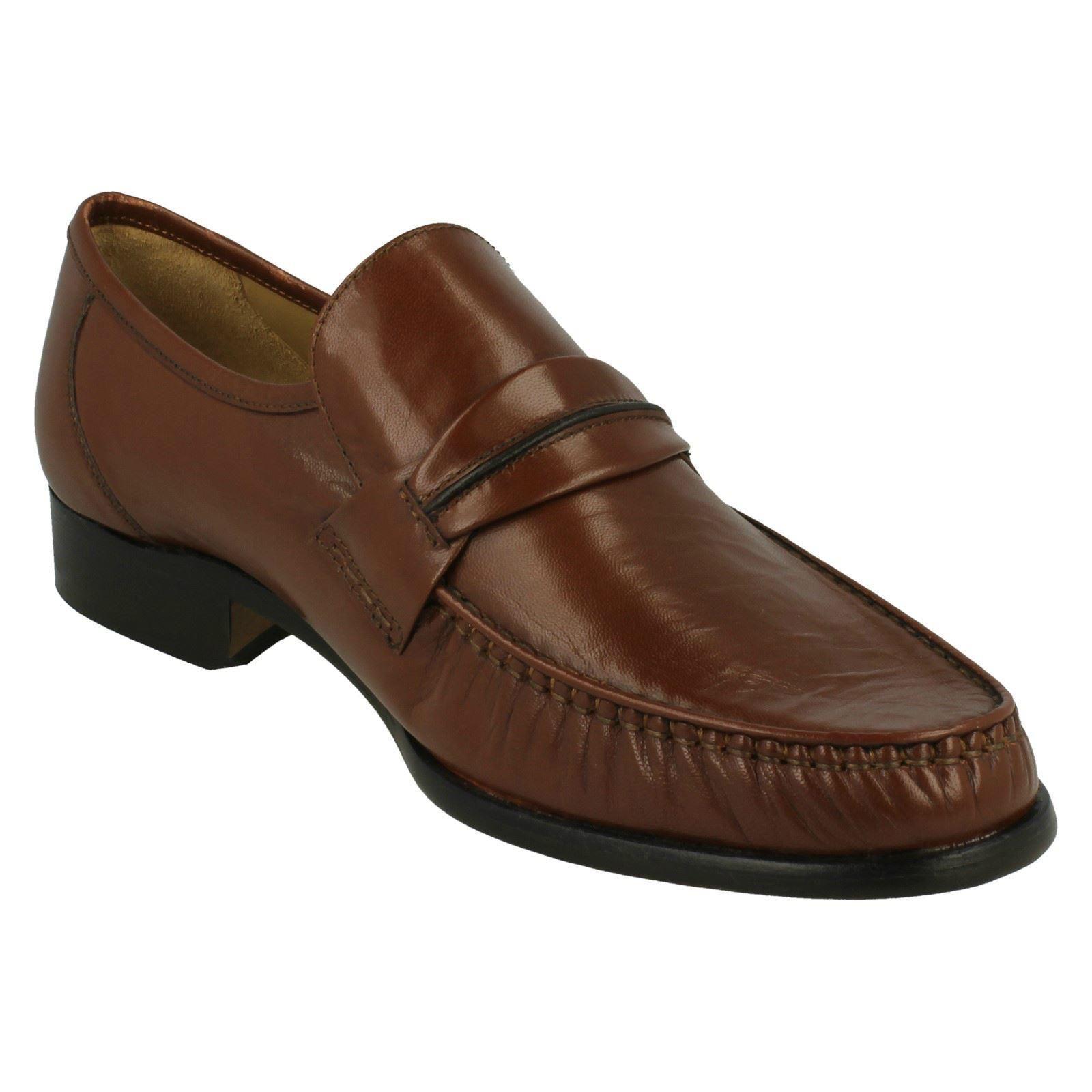 mens blunt formal slip on shoes boston ebay