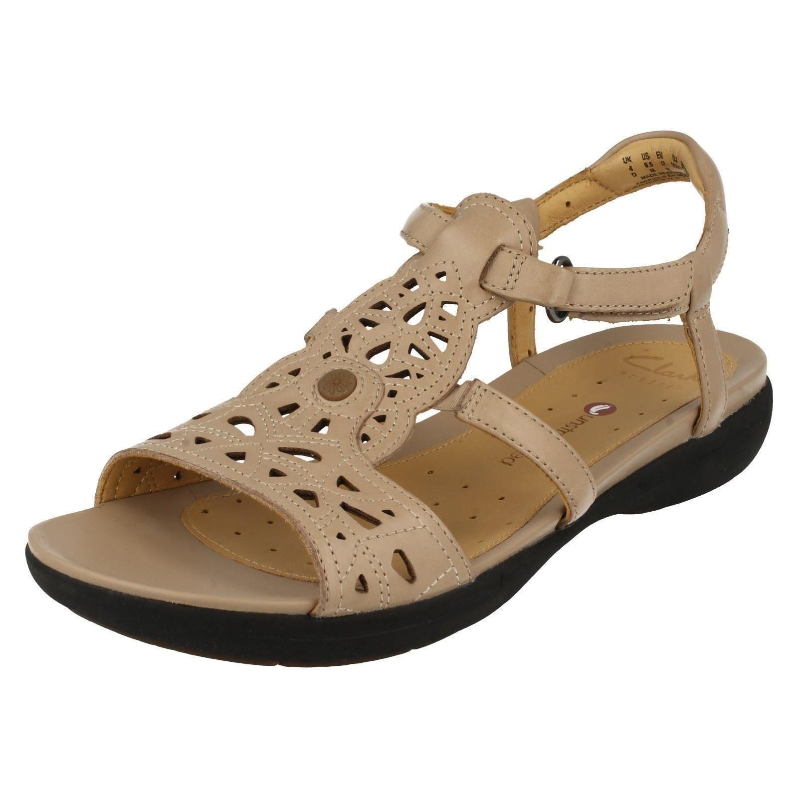 Ladies Clarks Unstructured Sandals Un Valencia