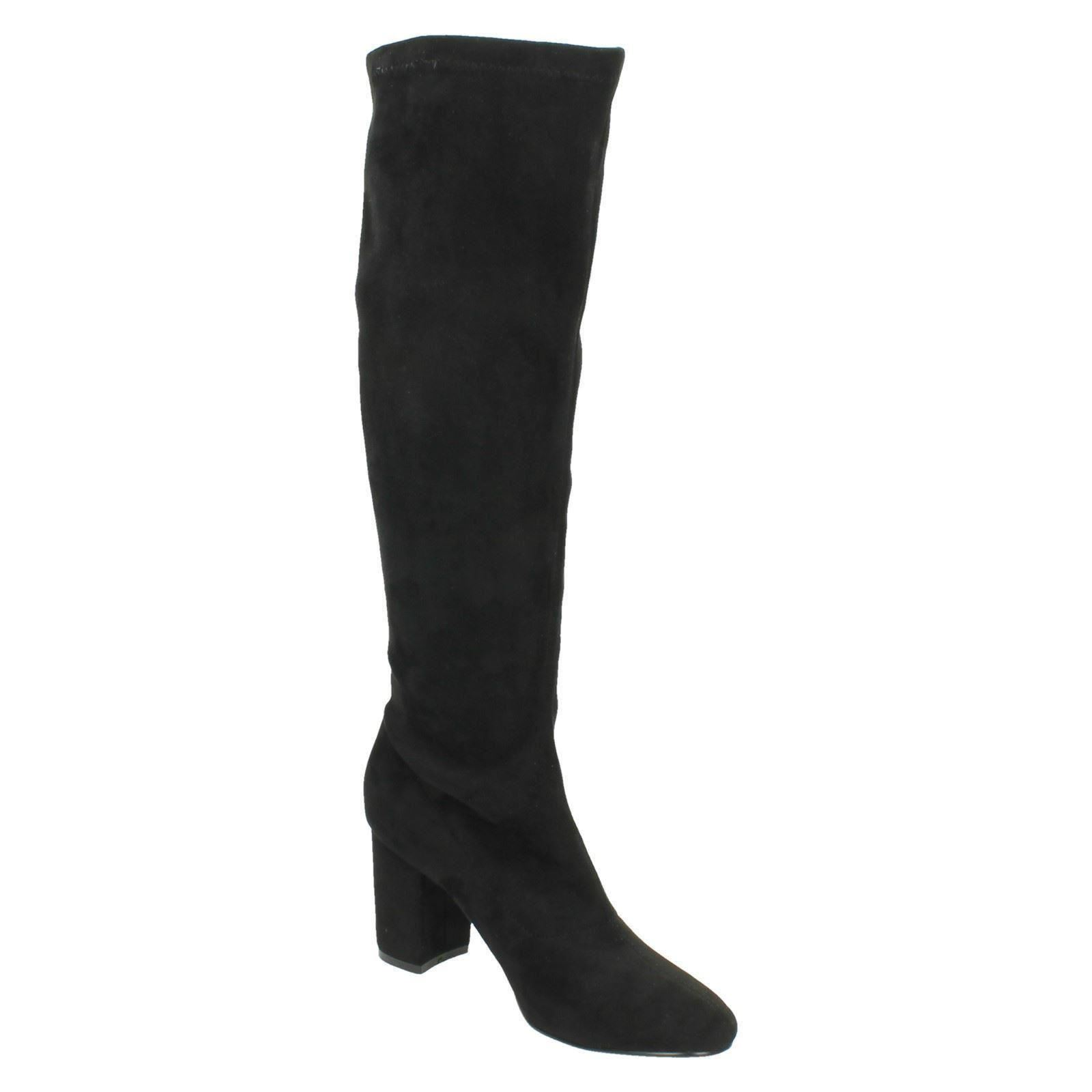 pull on knee high boots f50680 ebay