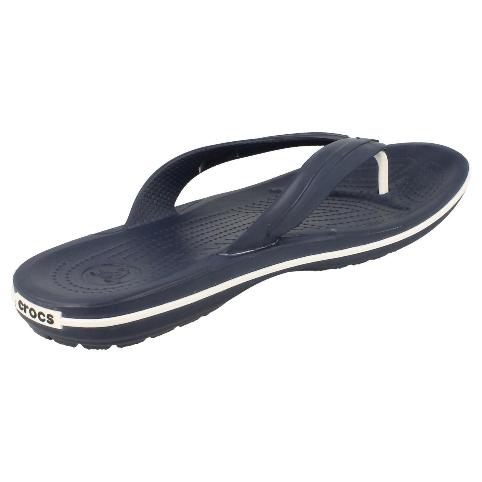unisex crocs flip flop sandals 39 crocband flip 39 ebay. Black Bedroom Furniture Sets. Home Design Ideas