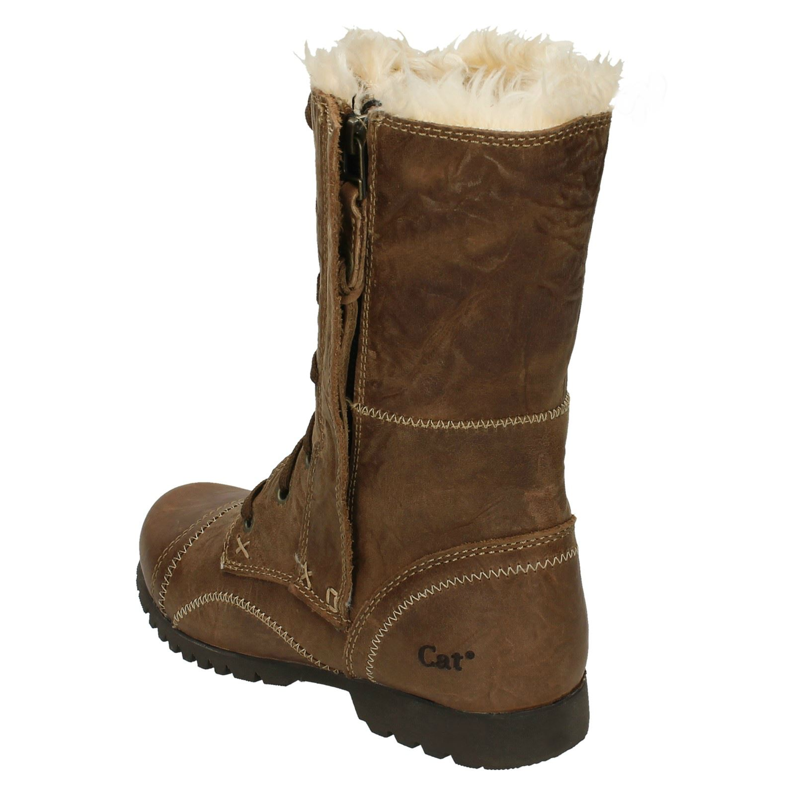 a735da31a002 Ladies Legendary Raw By Caterpillar Fur Lined Boots Jane Fur