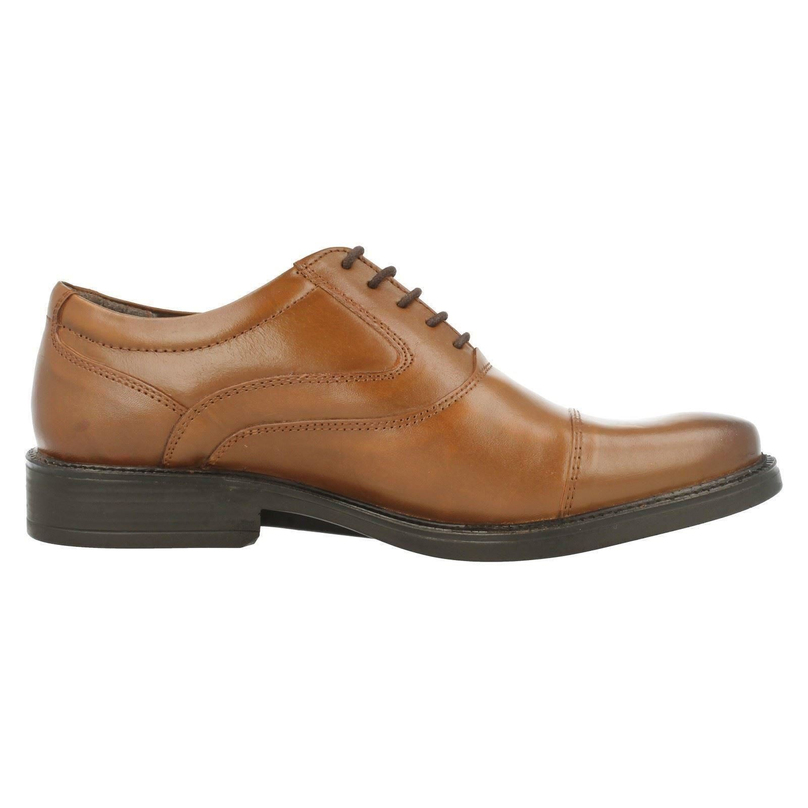 Mens Hush Puppies Formal Lace Up Leather Shoes - Rockford Oxford   EBay
