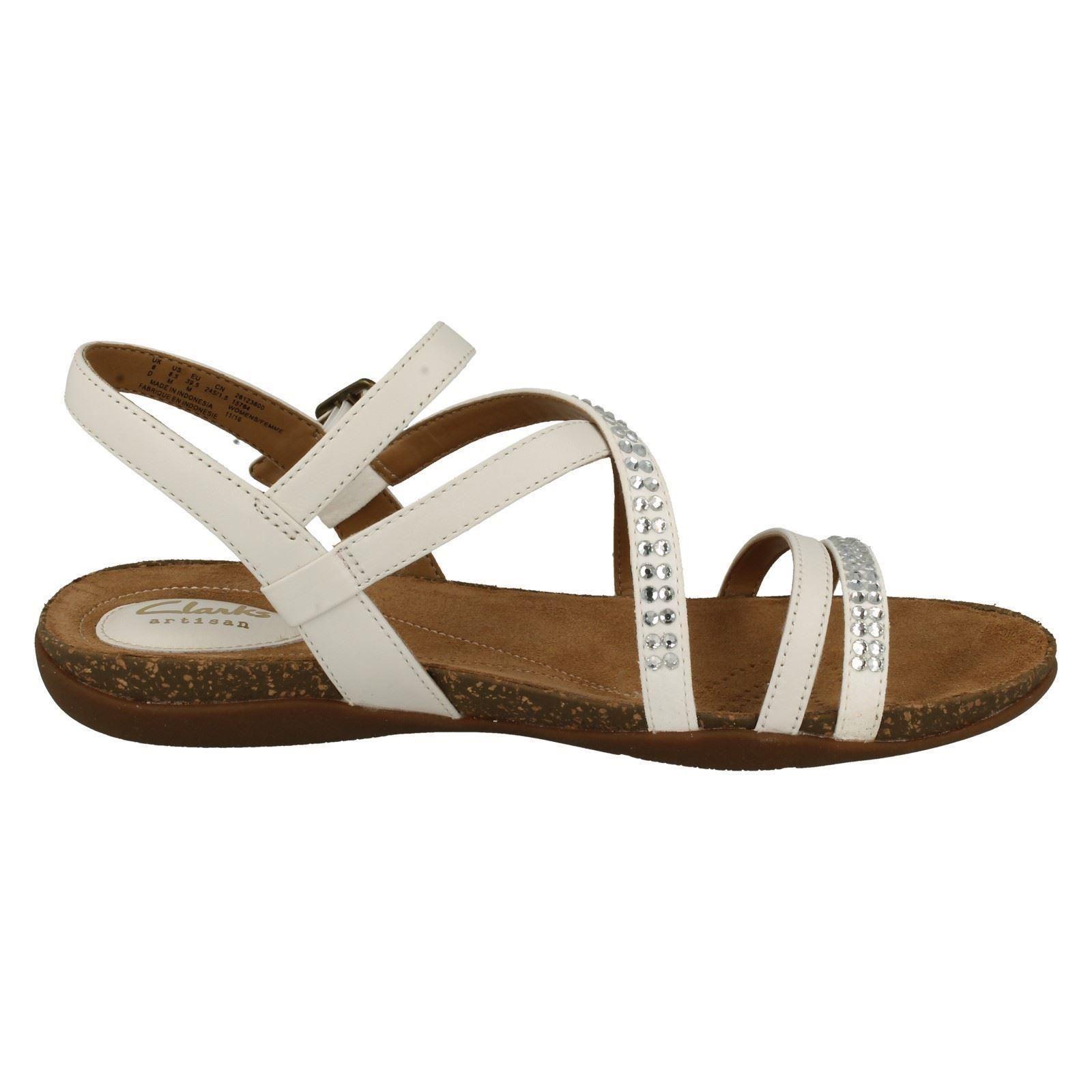 Ladies Clarks Lightweight Summer Sandals Autumn Peace Ebay