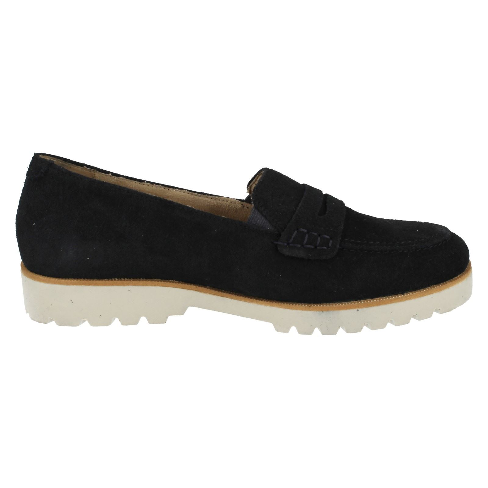 Ladies Remonte Loafer Style Shoes - D0101