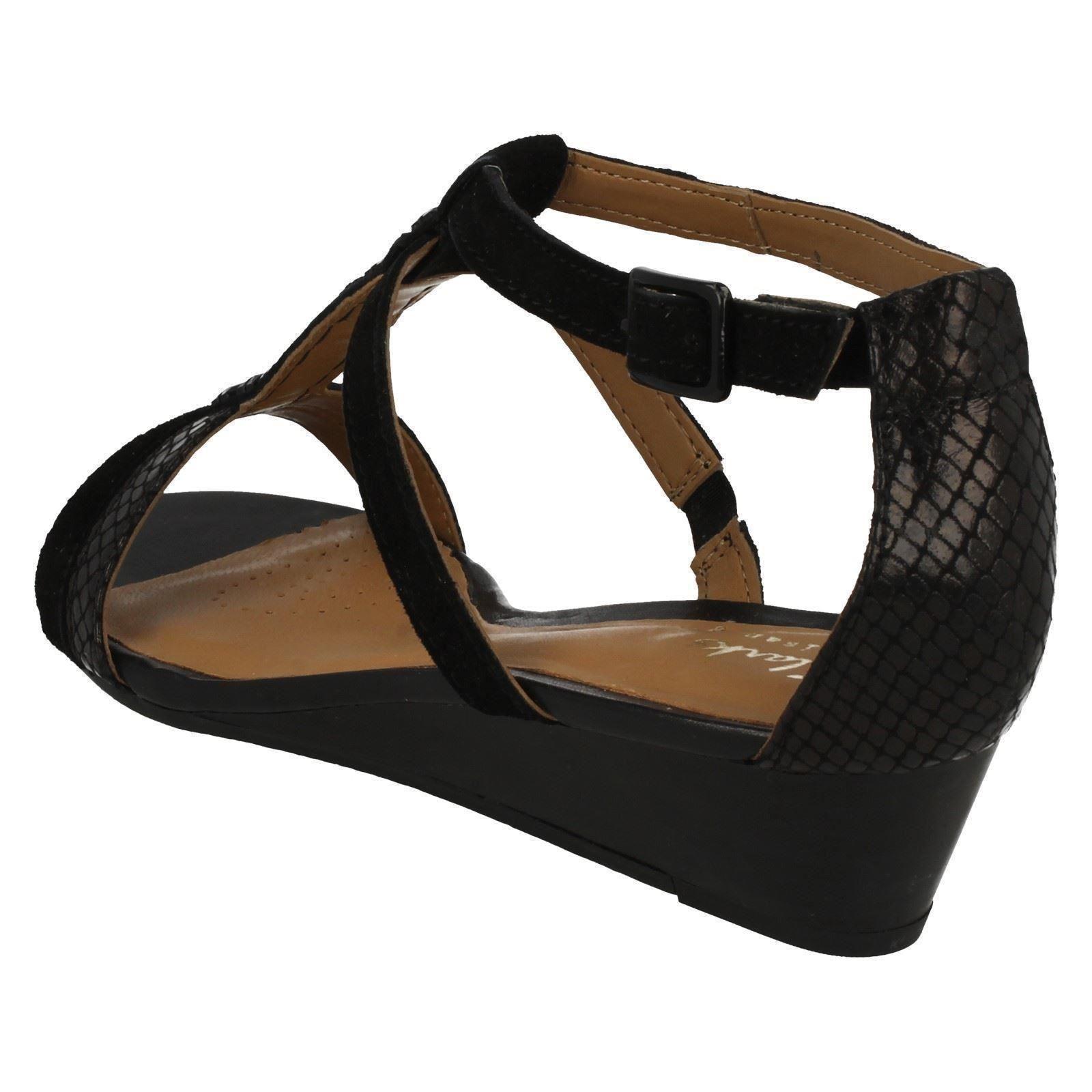 clarks smart wedge sandals playful fox ebay