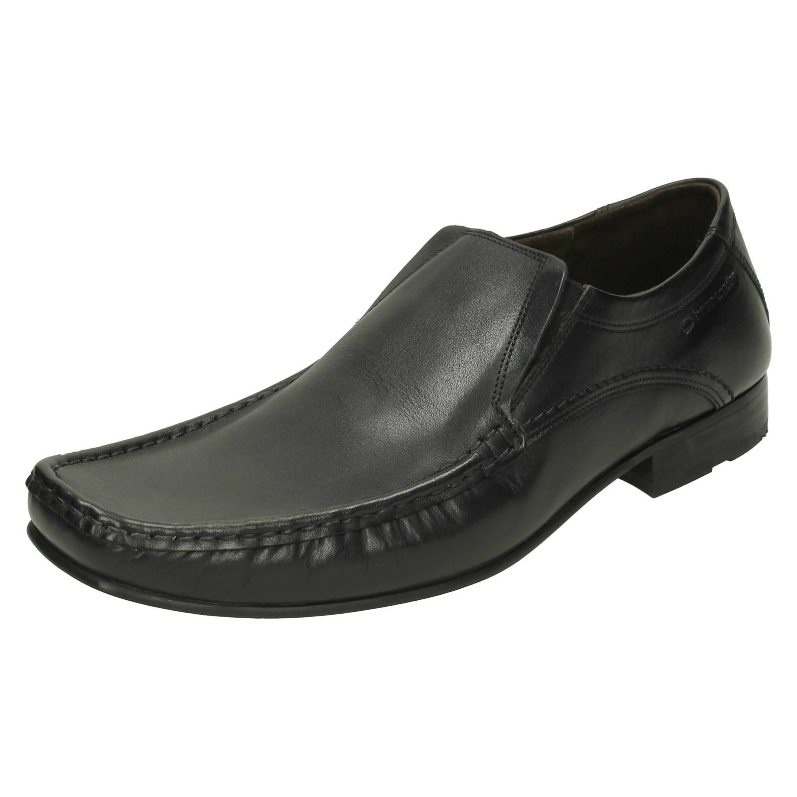 mens divide slip on formal loafer shoes ebay