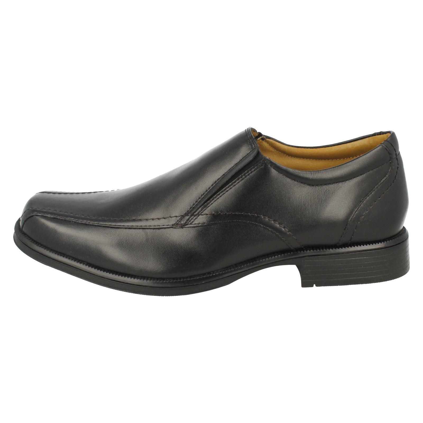 Mens Clarks Slip On Shoes Hatche Tough