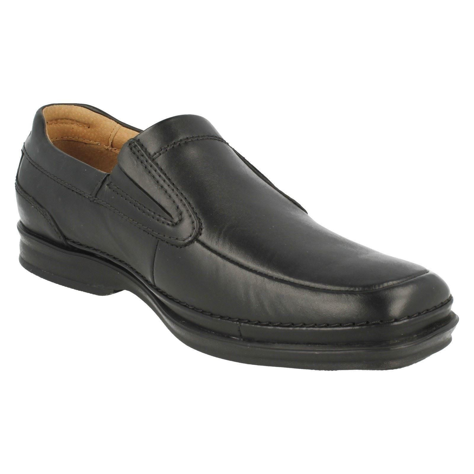 Clarks Extra Wide Mens Slip On Shoes