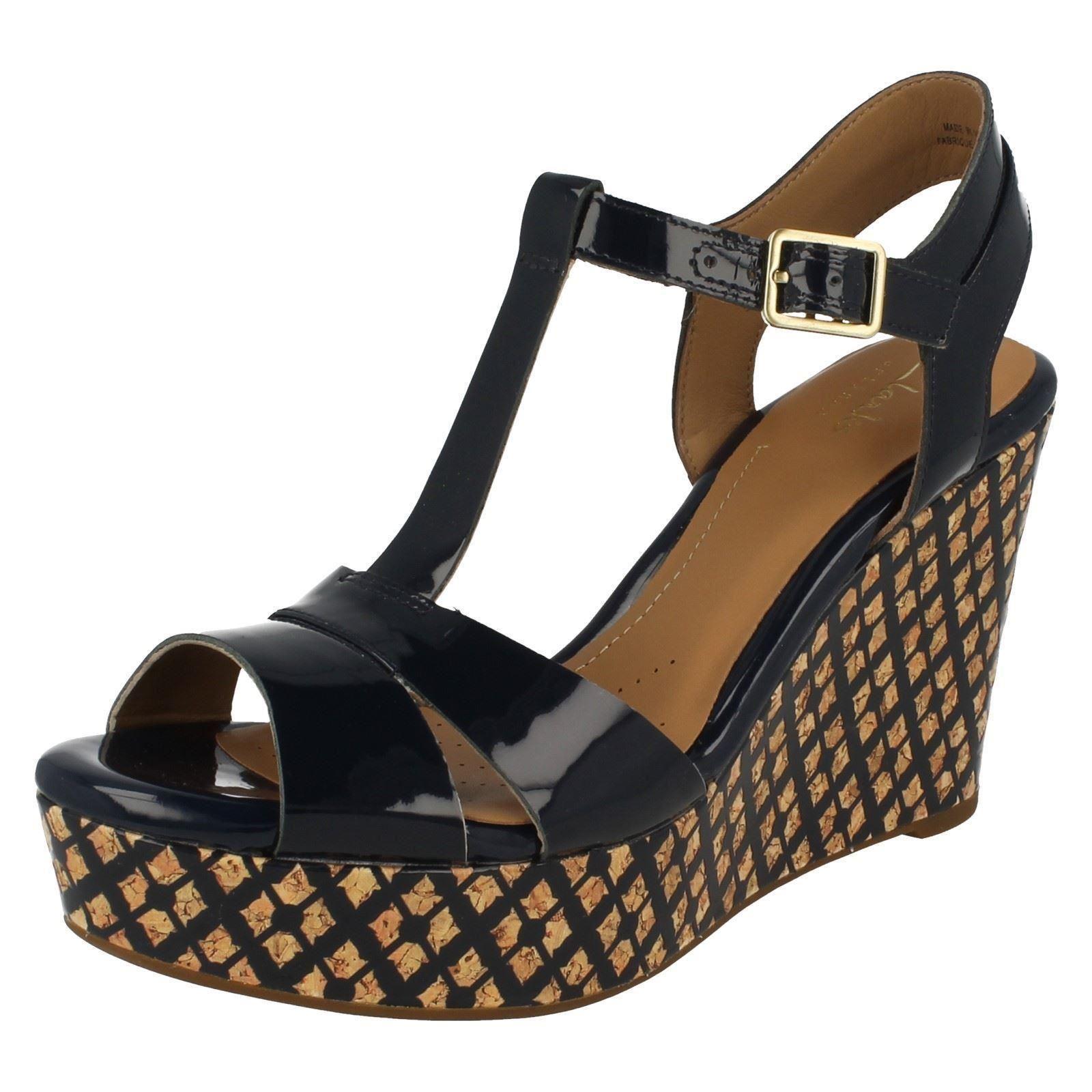 Clarks Ladies Wedge Shoes