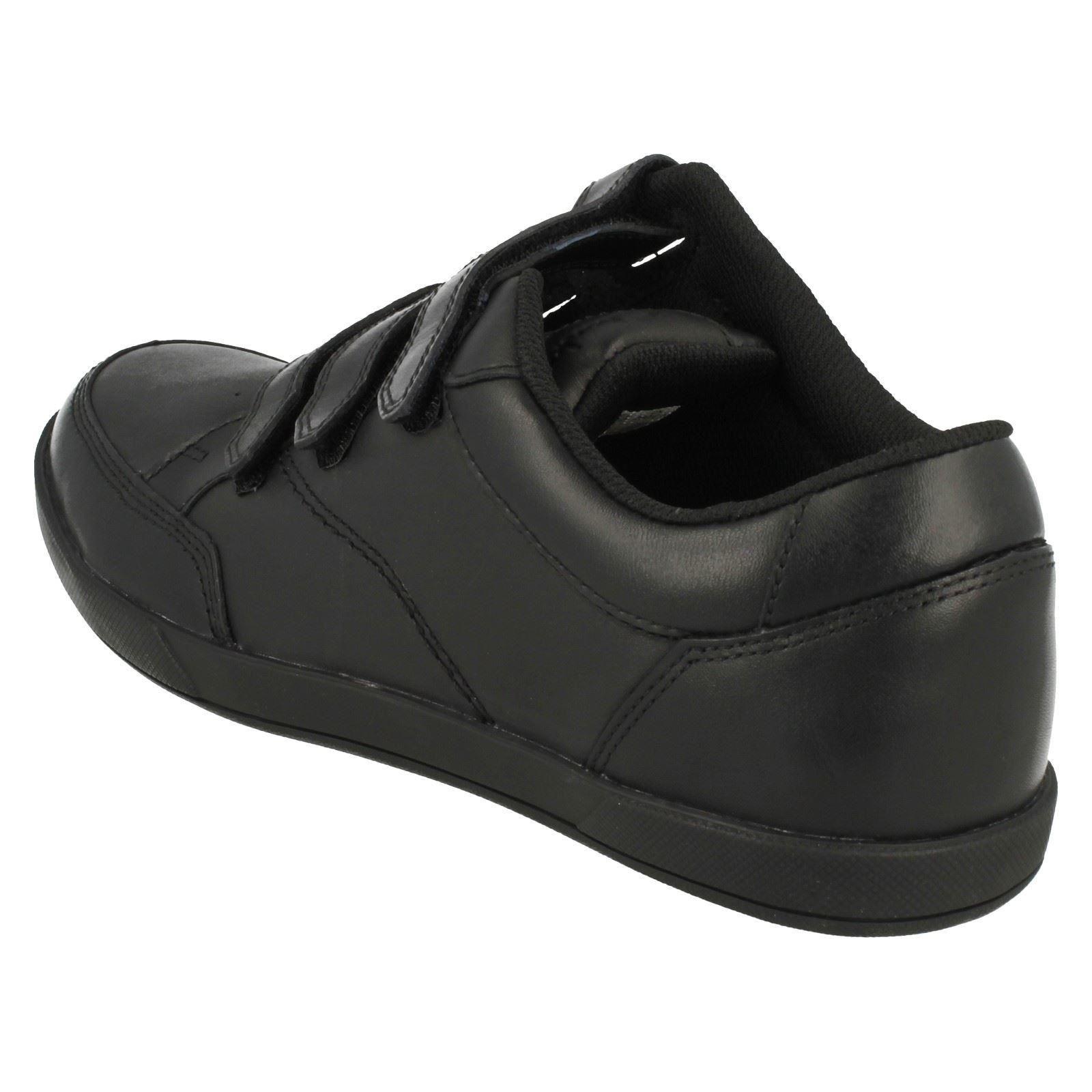 mens clarks velcro fastened smart shoes frontside spin ebay