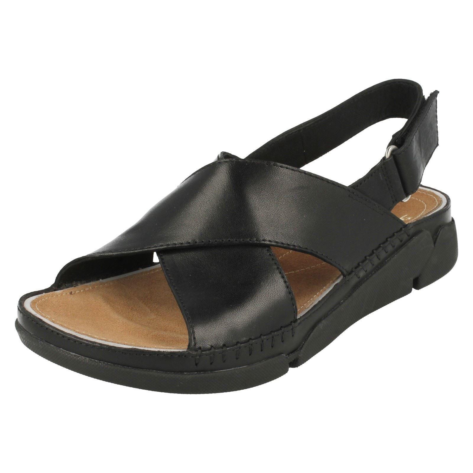 Ladies Clarks Casual Summer Sandals Tri Alexia Ebay