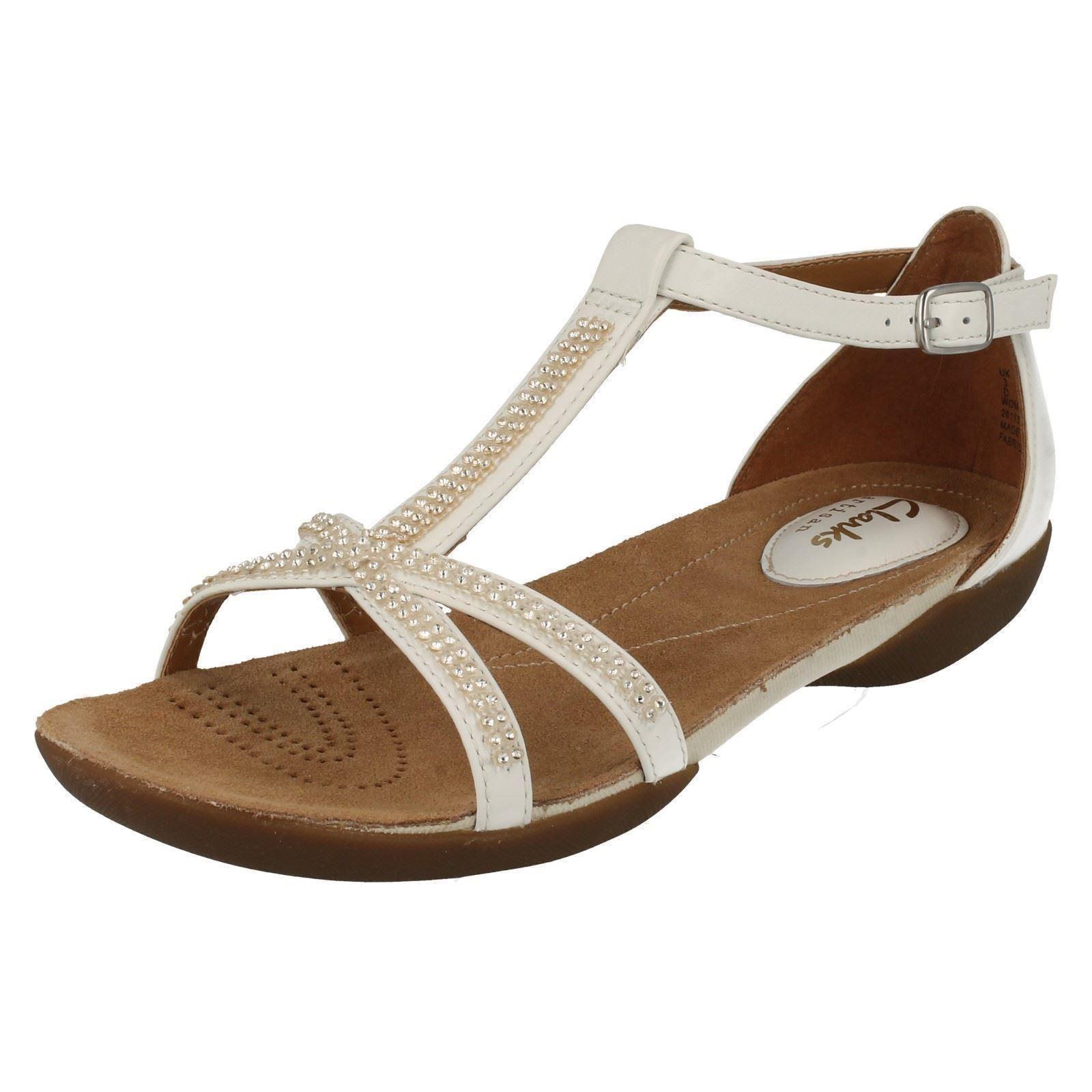 Ladies Clarks Casual Summer Sandals Raffi Star Ebay