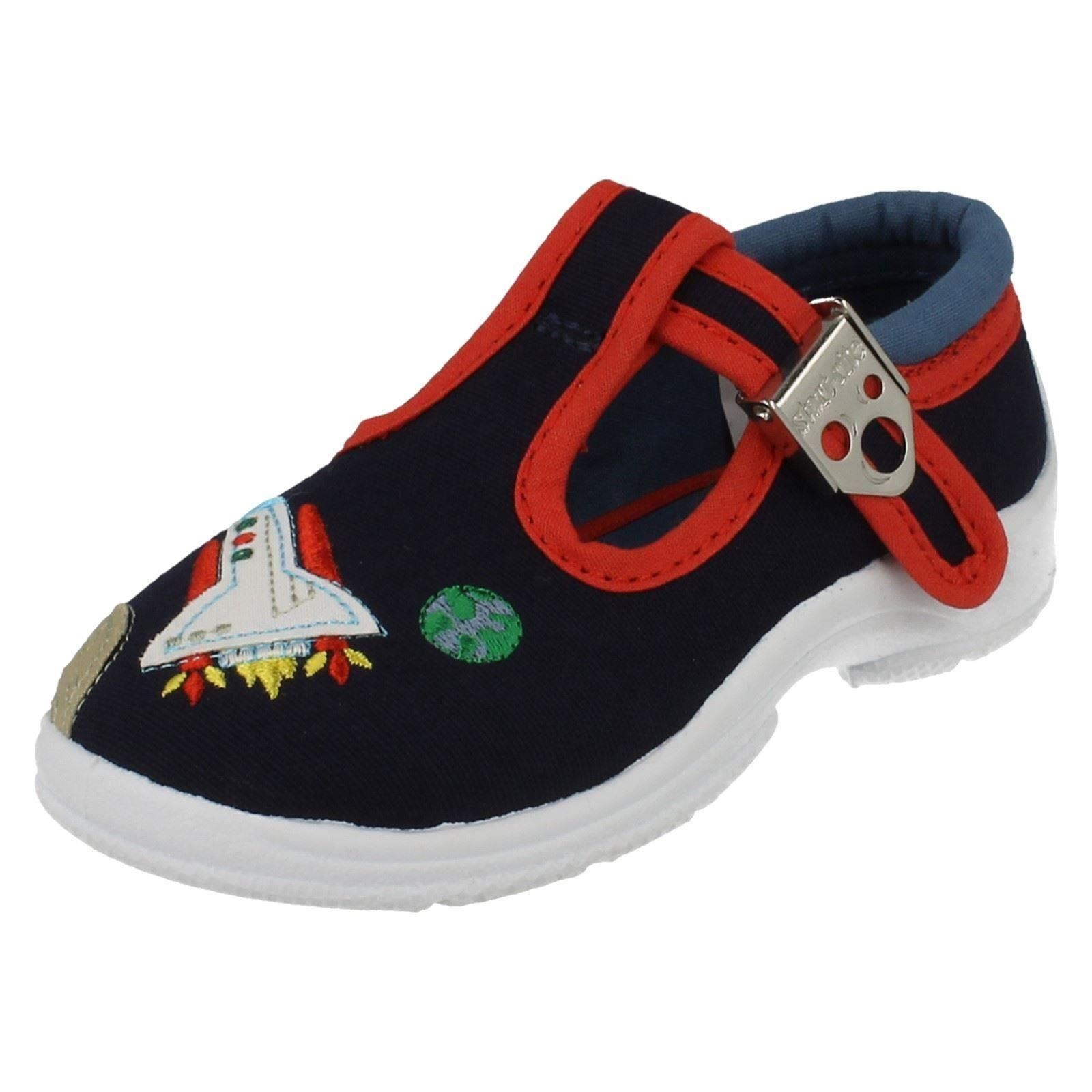 startrite canvas boys shoes space cadet ebay