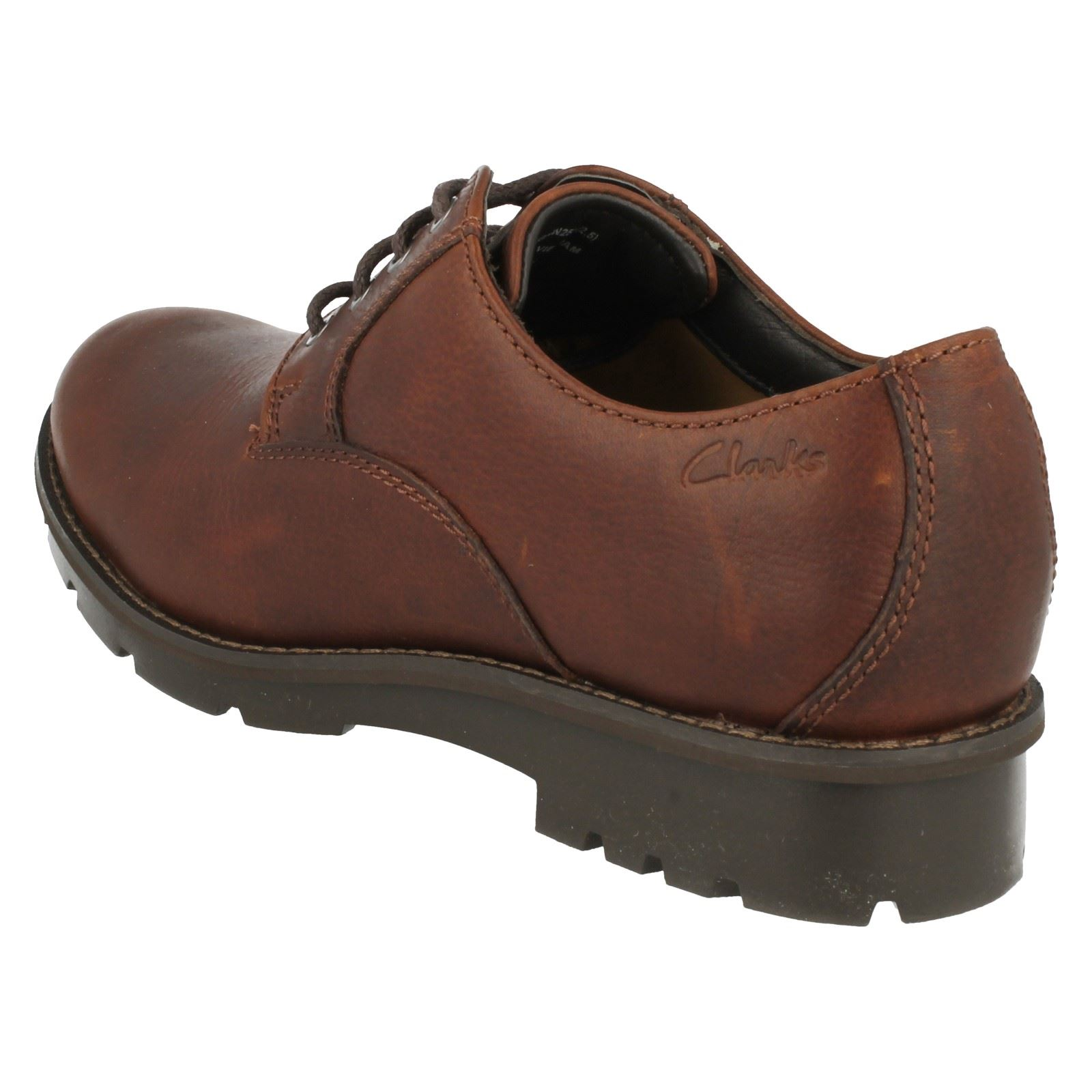 Clarks Mens Casual Scopic Way Leather Shoes