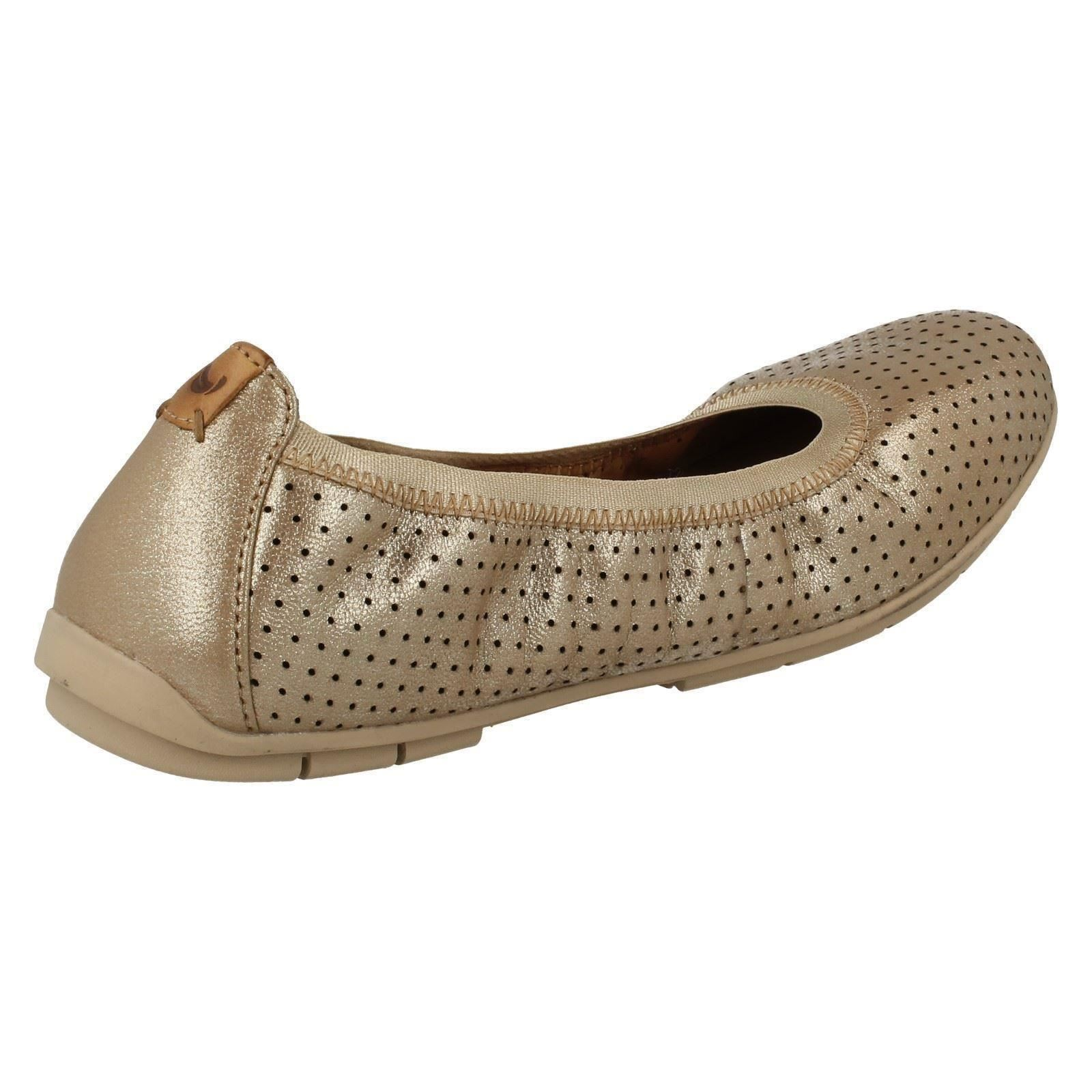 Ladies Unstructured By Clarks Flat Shoes Un Tract | EBay
