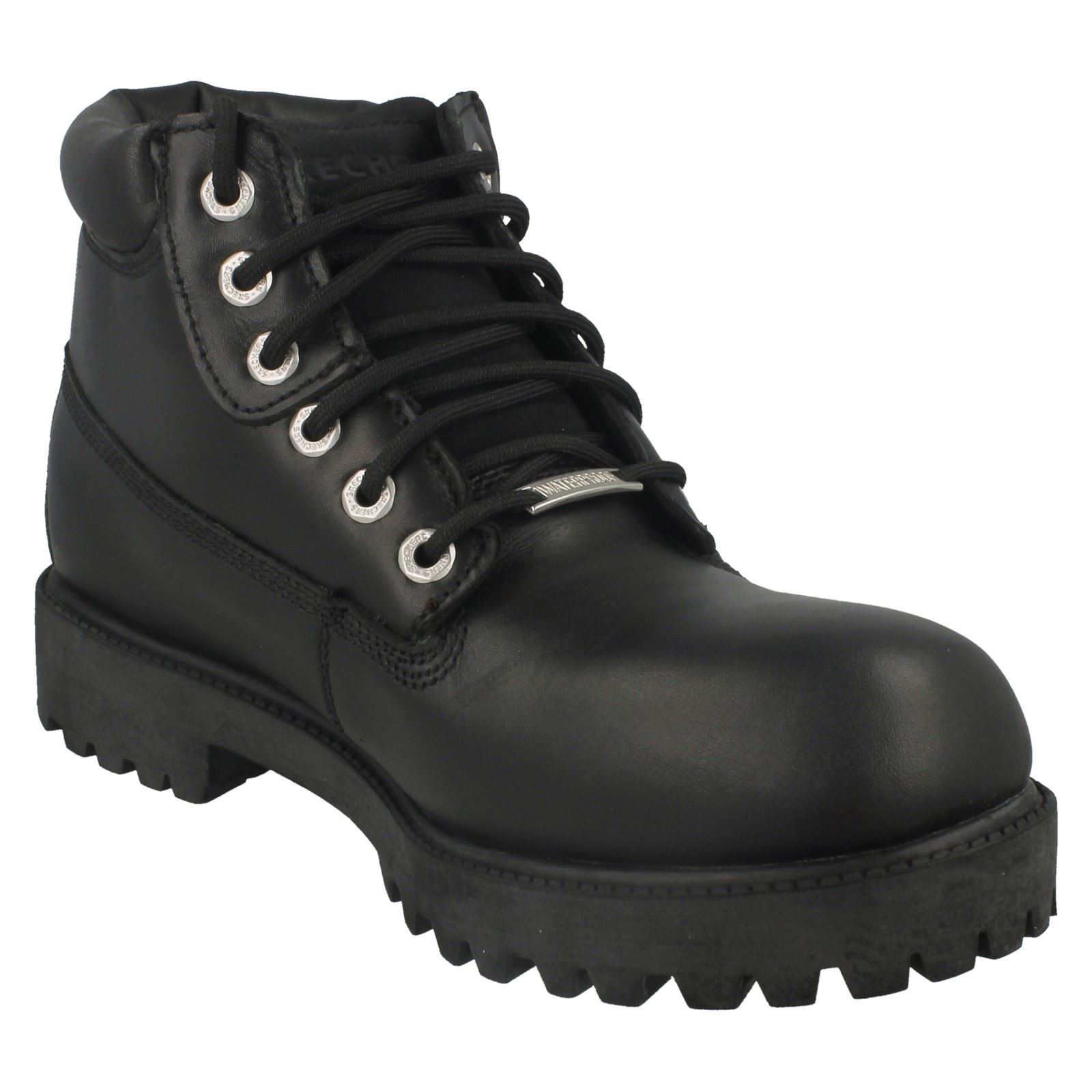 Mens Sketchers Verdict Casual Waterproof Lace Up Boots | eBay