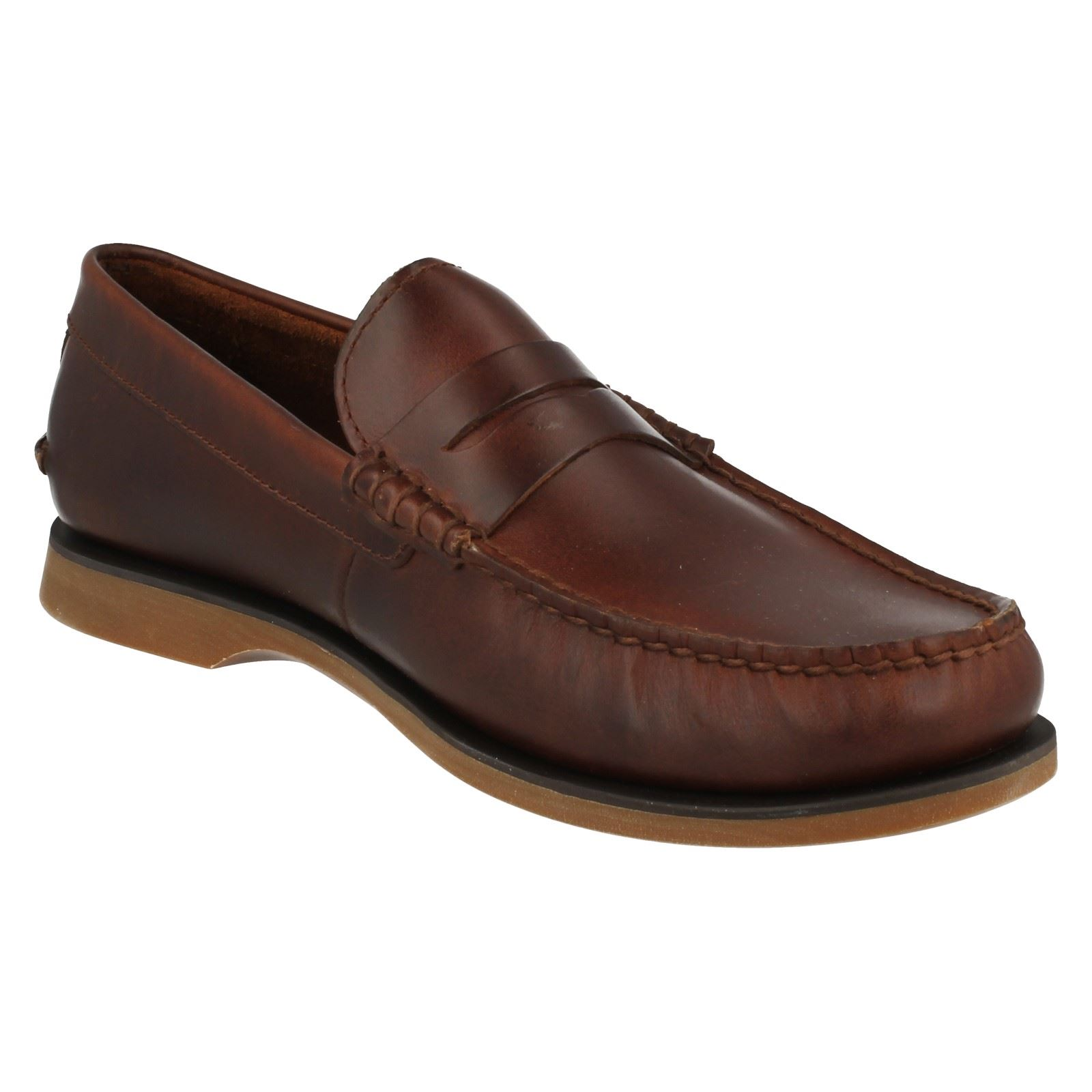 Mens Clarks Casual Loafers Quay Point   eBay