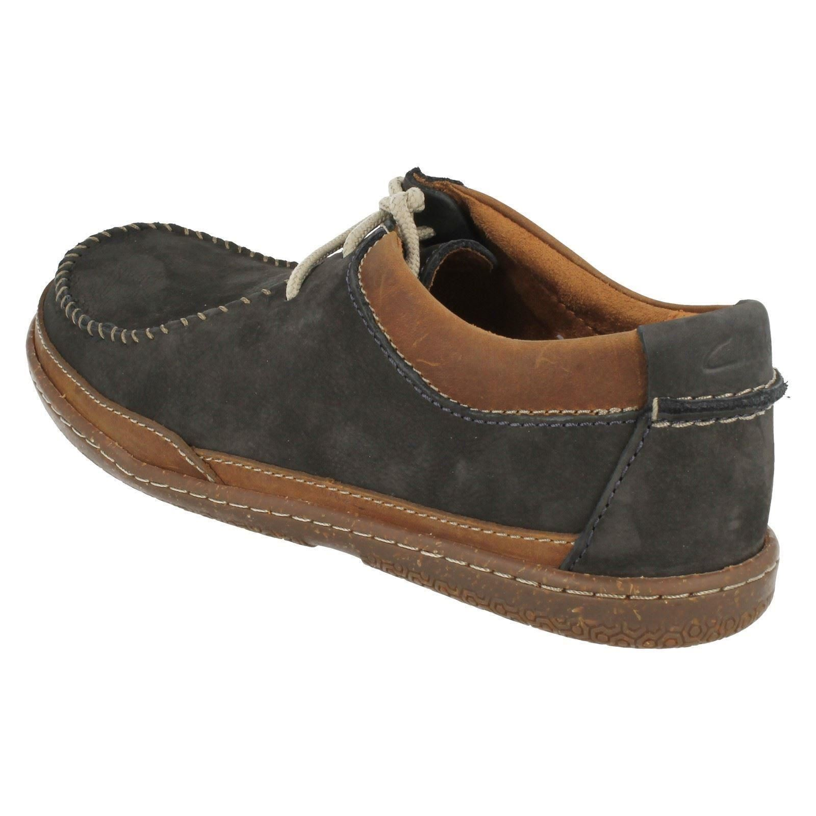 mens clarks casual shoes trapell pace ebay