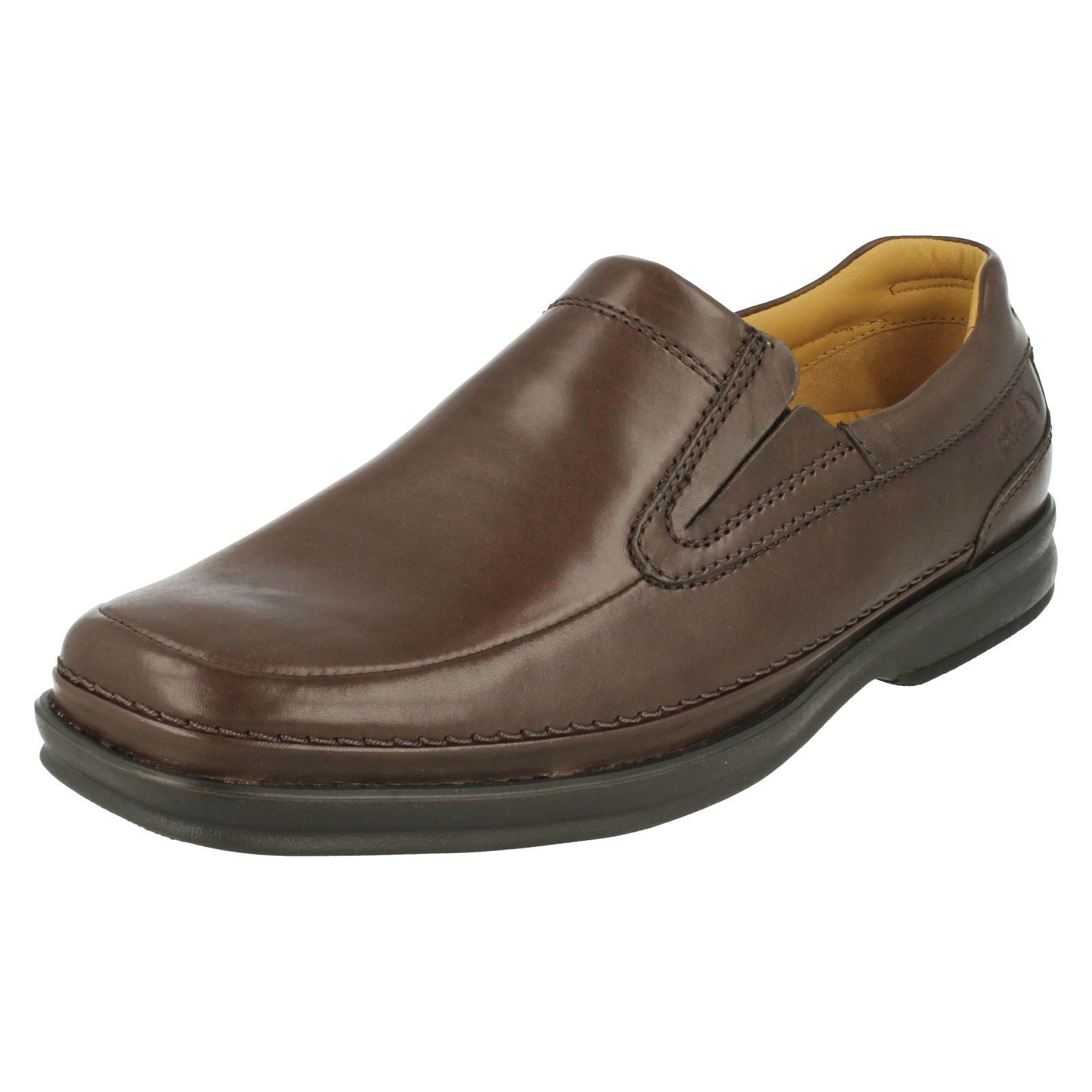 mens clarks slip on shoes scopic fall ebay
