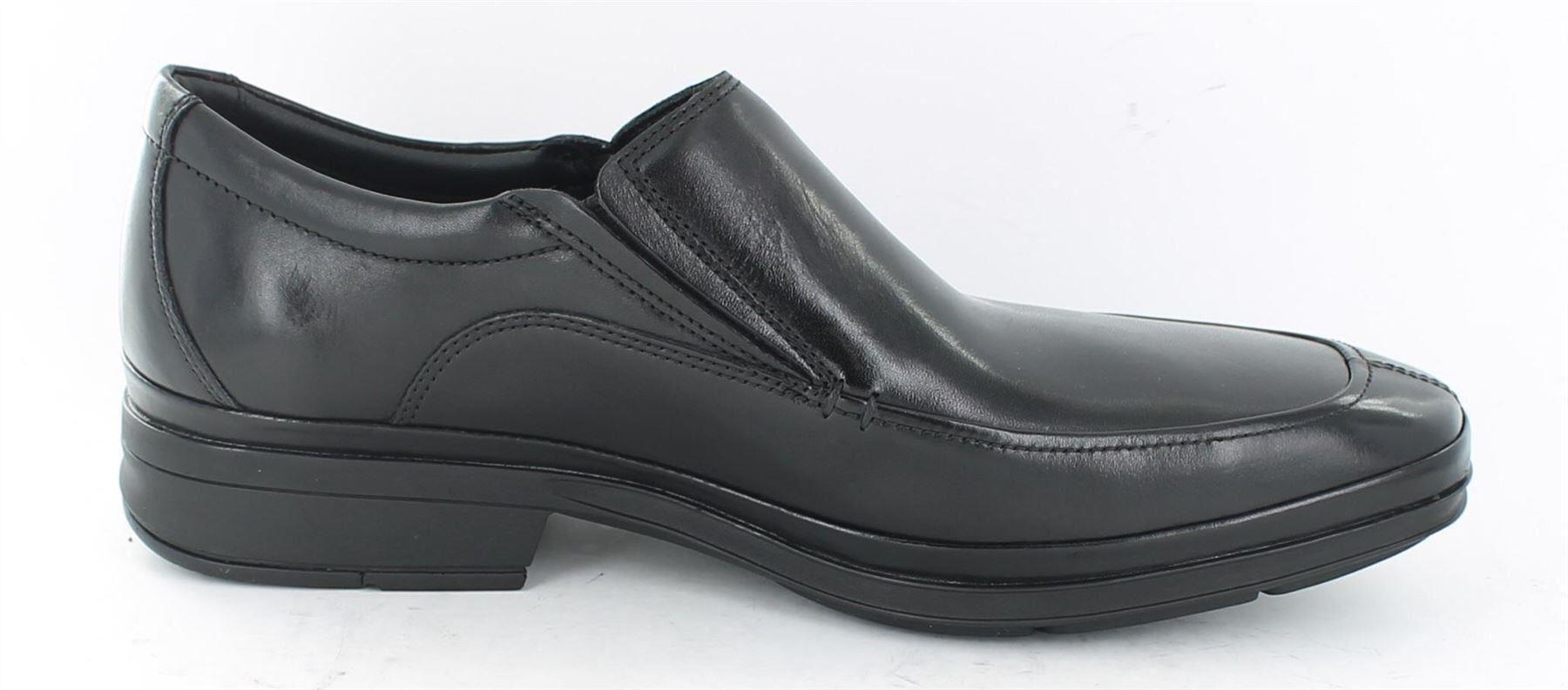 Clarks-Deliver-Light-Formal-Slip-on-Active-Air-Shoes-Black-Leather