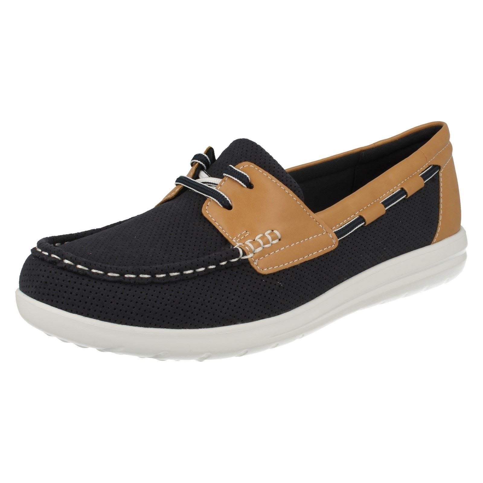 Clarks Womens Deck Shoes
