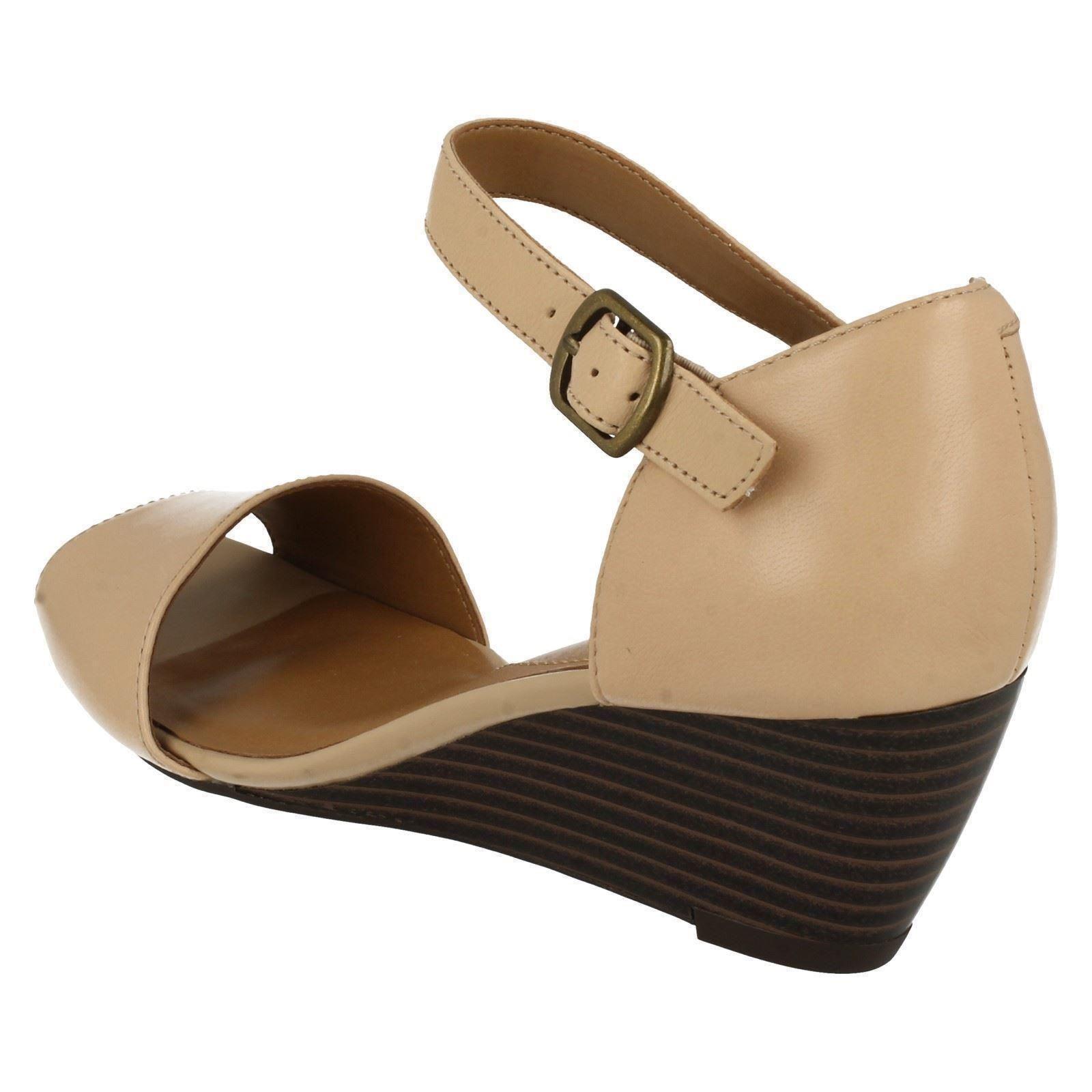 clarks smart wedge sandals brielle drive ebay