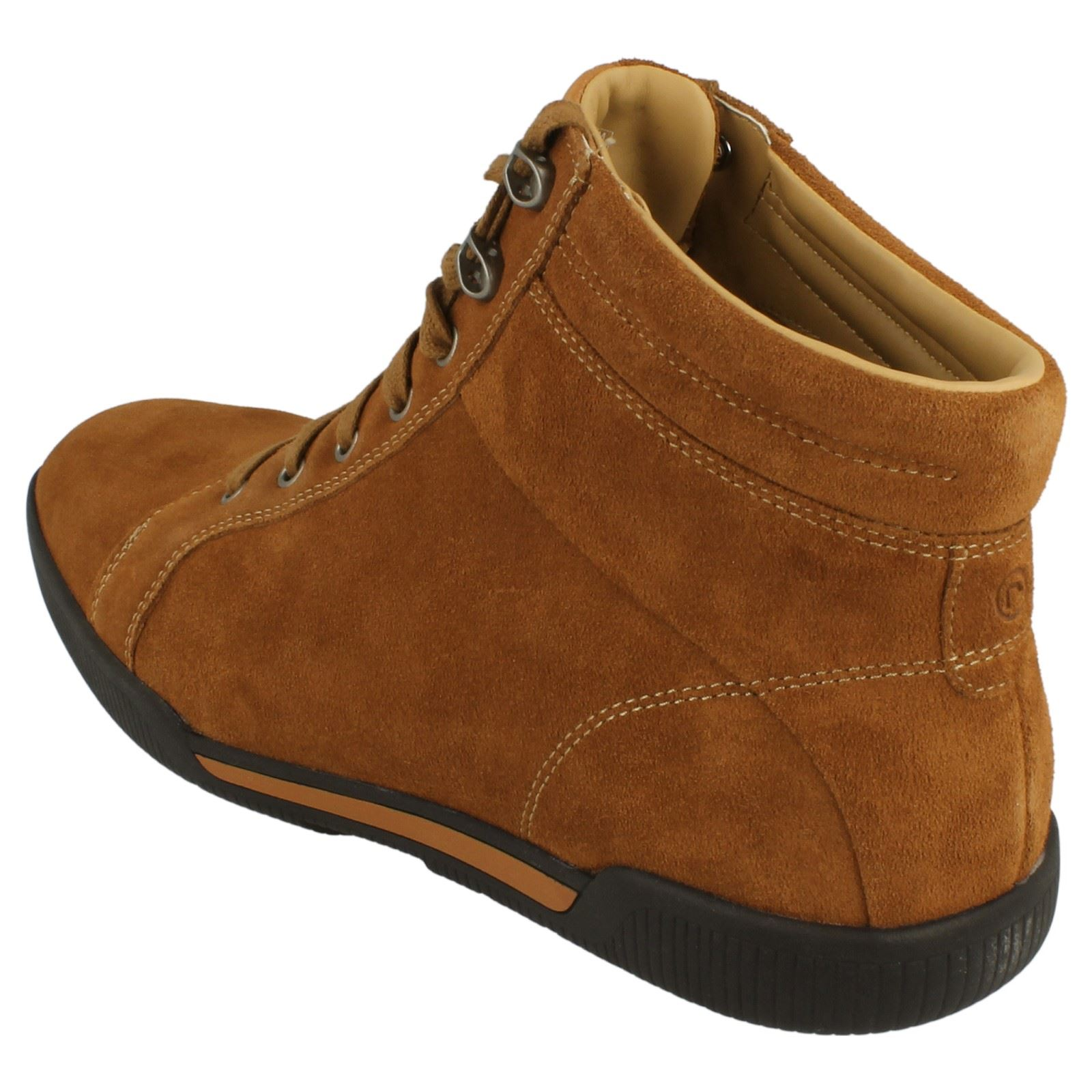 mens rockport suede leather ankle boots ebay