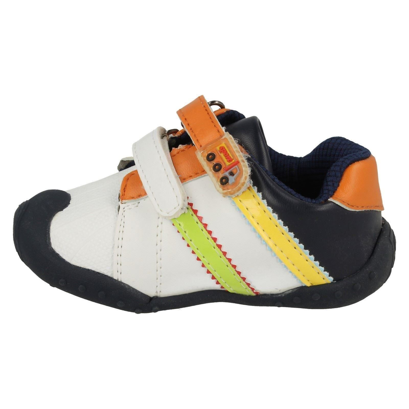 Infant Boys JCDees Casual Velcro Trainer Shoes N1048