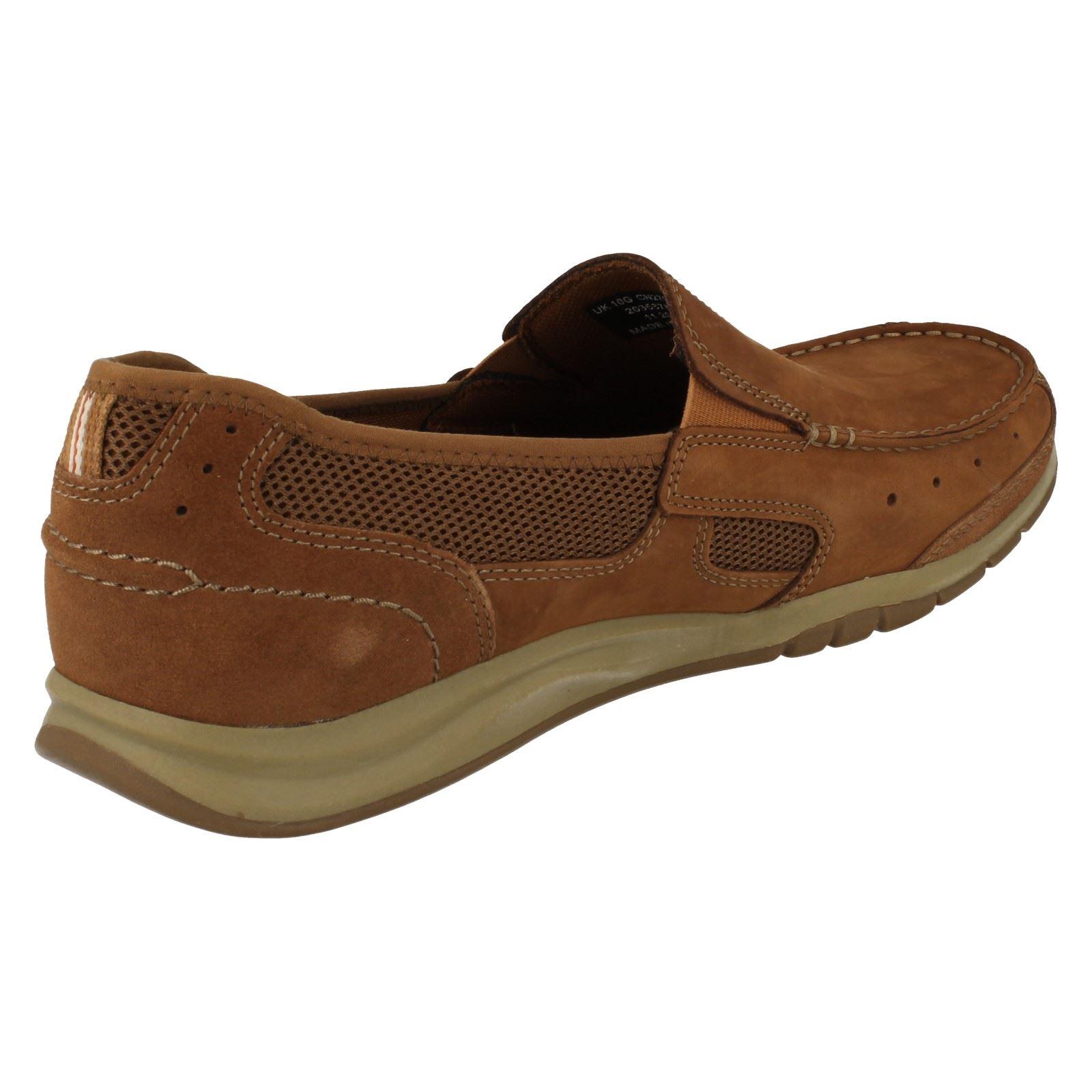 mens clarks slip on shoes ramada ebay