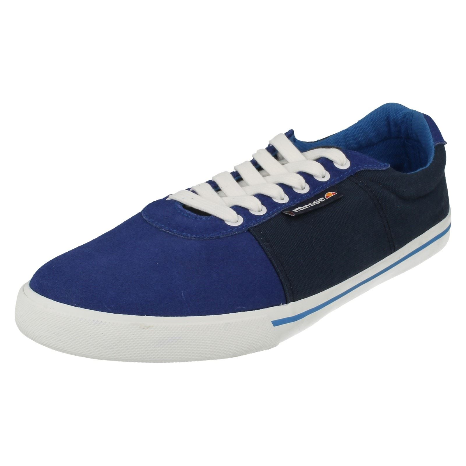mens ellesse casual canvas shoes wood wood ebay