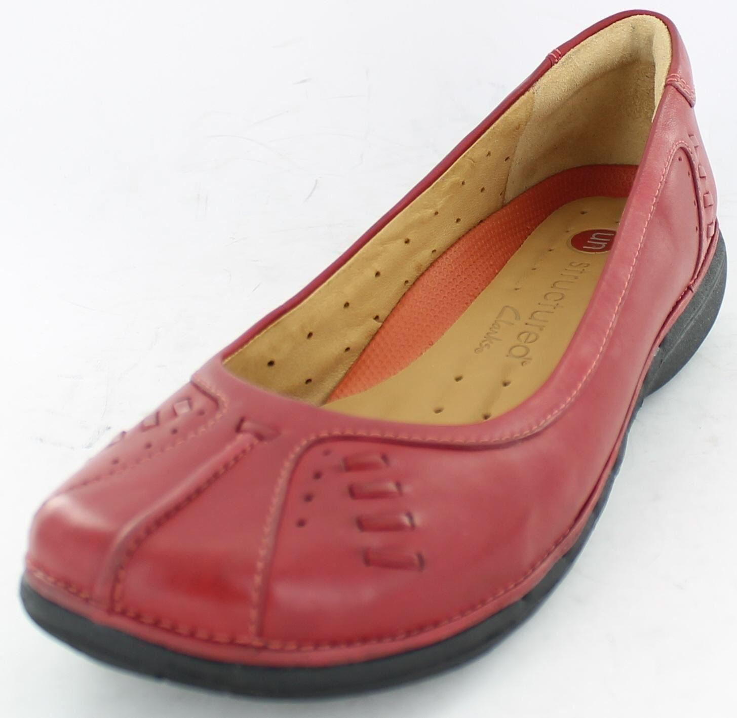 Model Clarks Anika Kendra Wine Leather Womens Shoes  Weoee Fashion