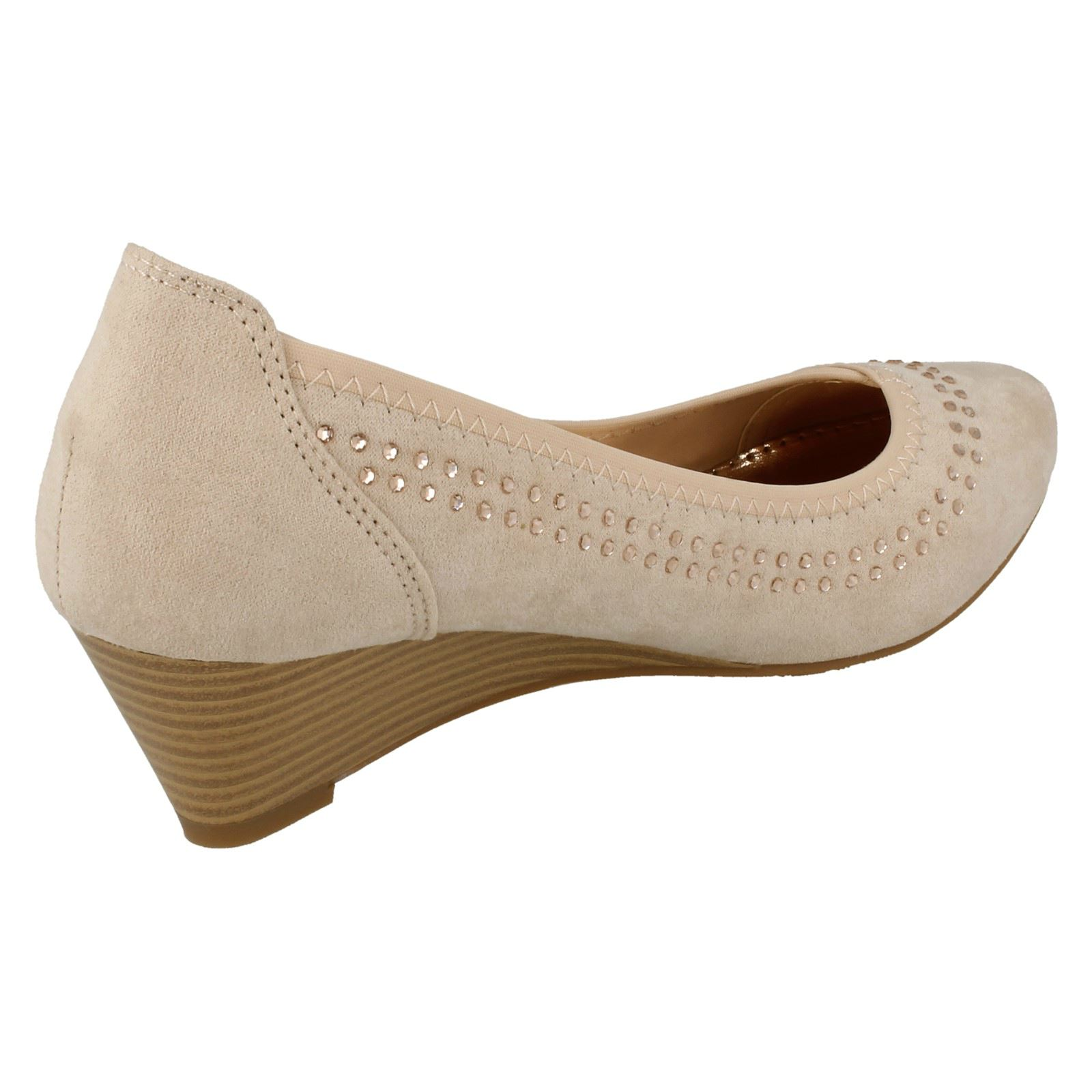 style 984 mid wedge court shoes ebay