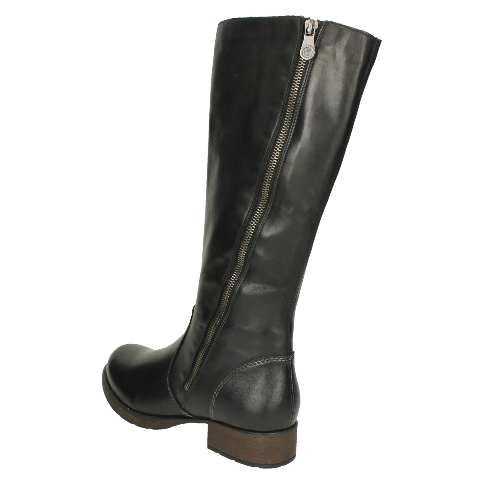 Ladies Rieker Trendy Riding Style Long Boots Z9581 Ebay