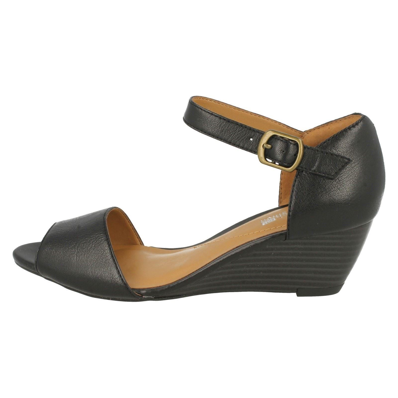 clarks smart sandals with wedge brielle drive ebay