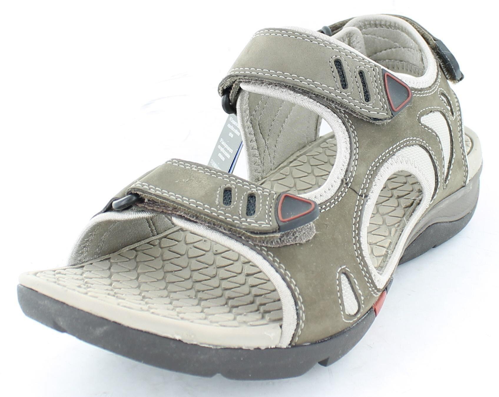 Mens Clarks Wave Walk Outdoor Open Nubuck Sandals Wave