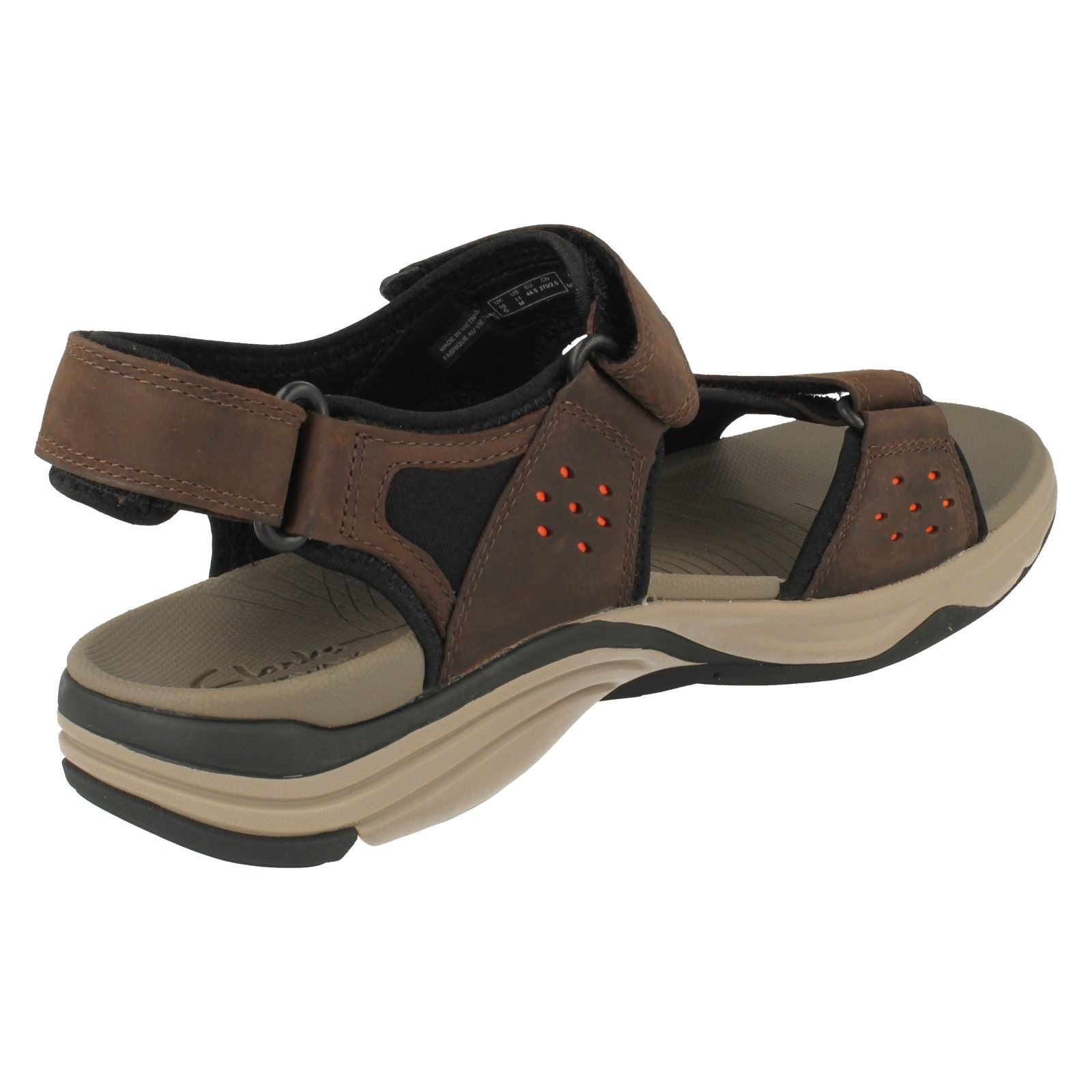 Mens Clarks Sandals Wave Leap Ebay