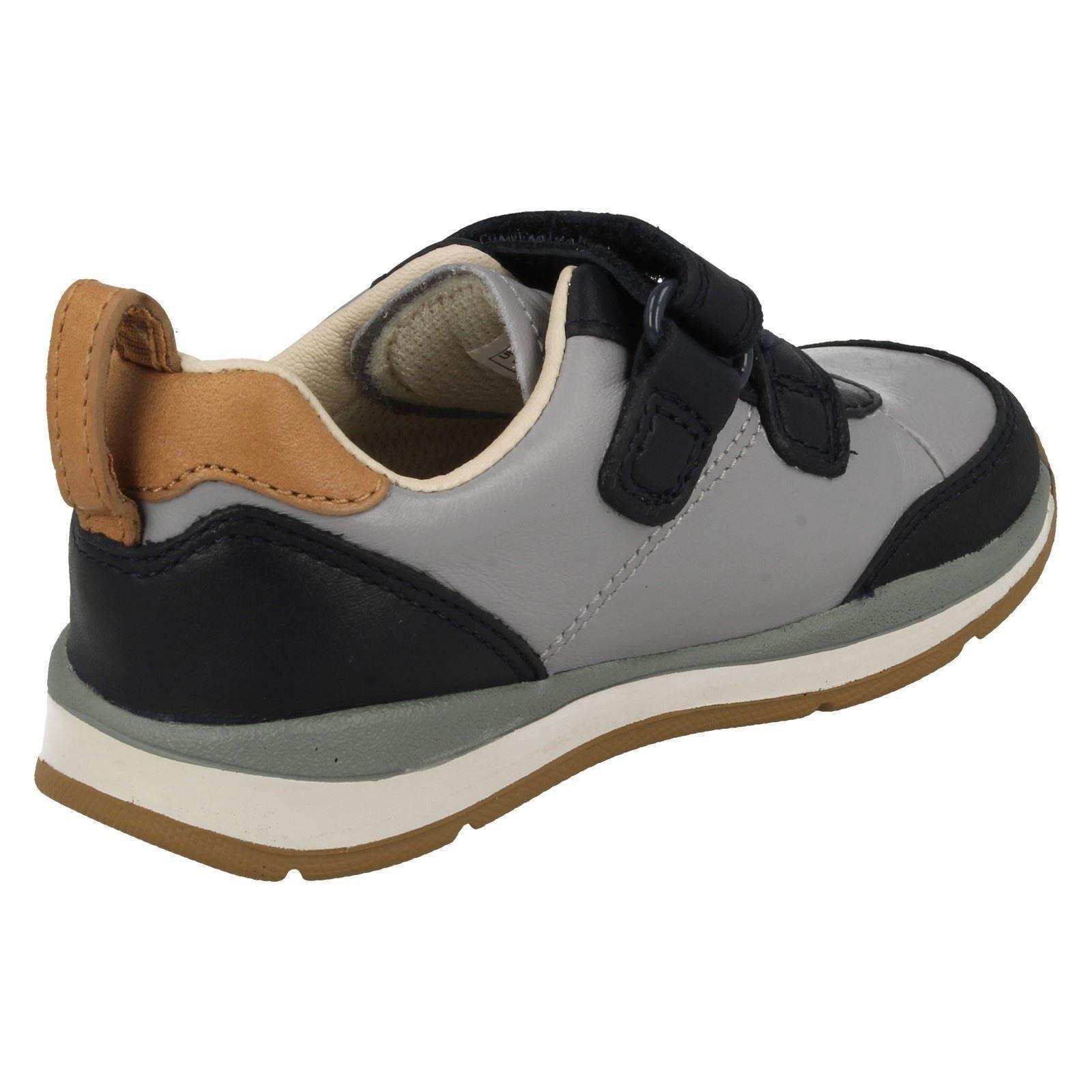 infant boys clarks walking shoes ferris cap ebay
