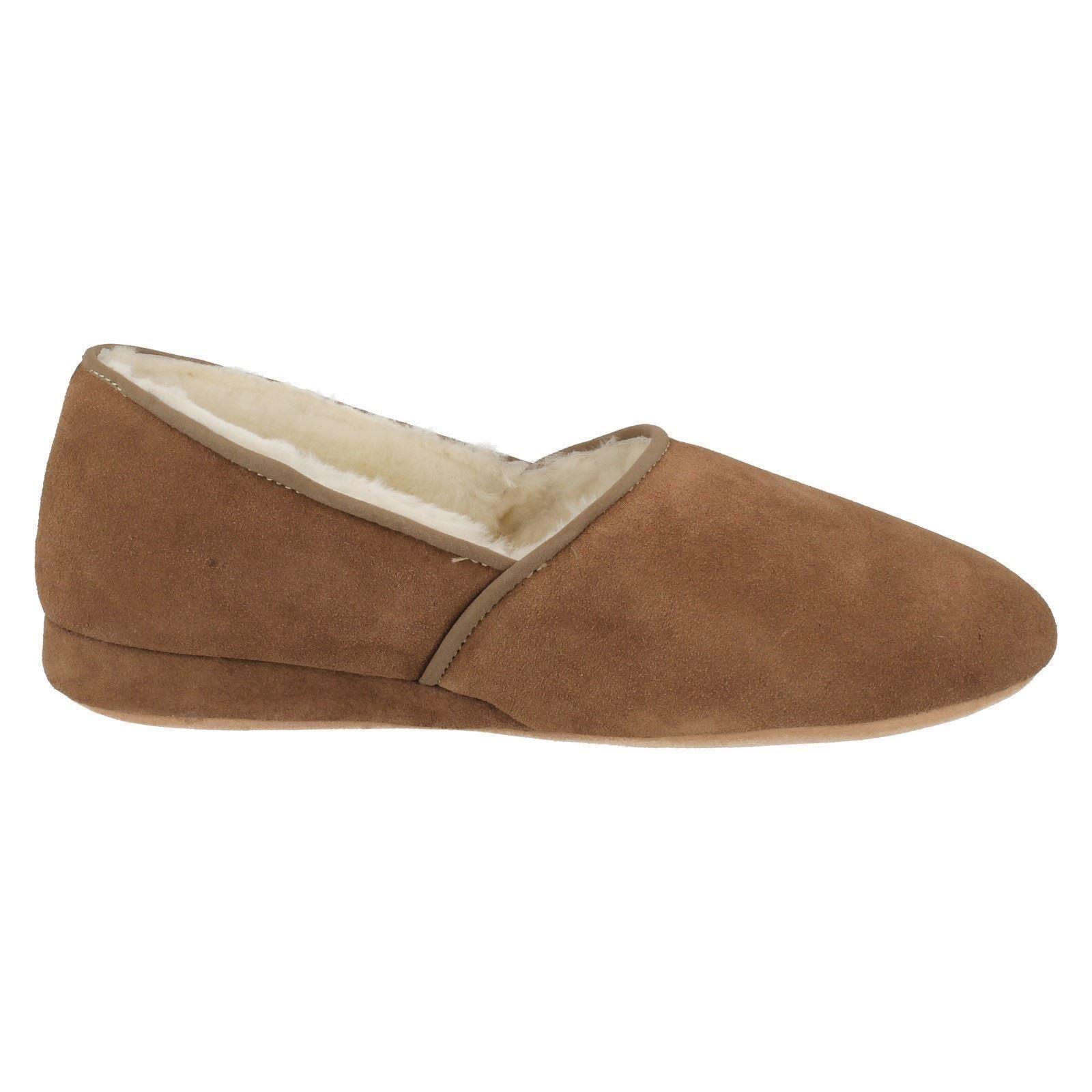 mens morlands dunbar suede slippers ebay